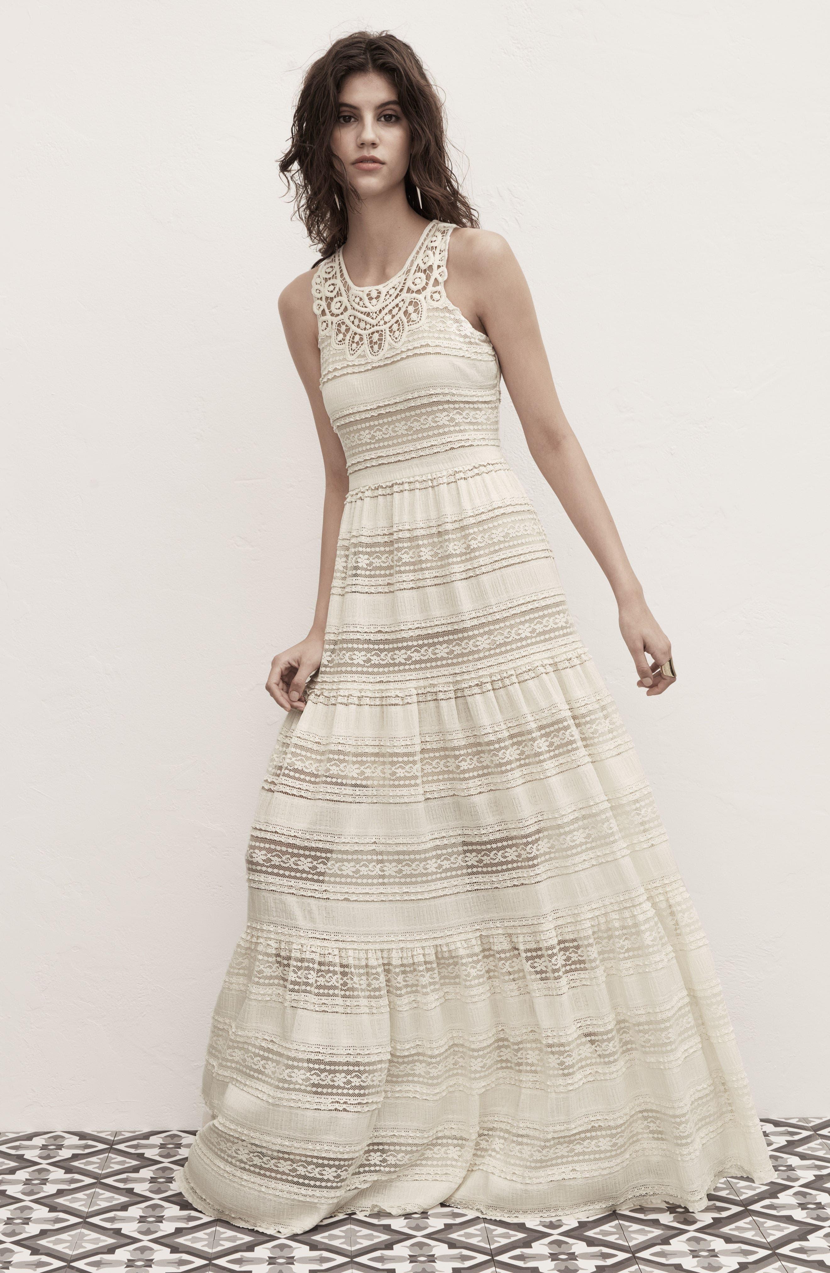 Alternate Image 2  - Eliza J Maxi Dress (Regular & Petite)