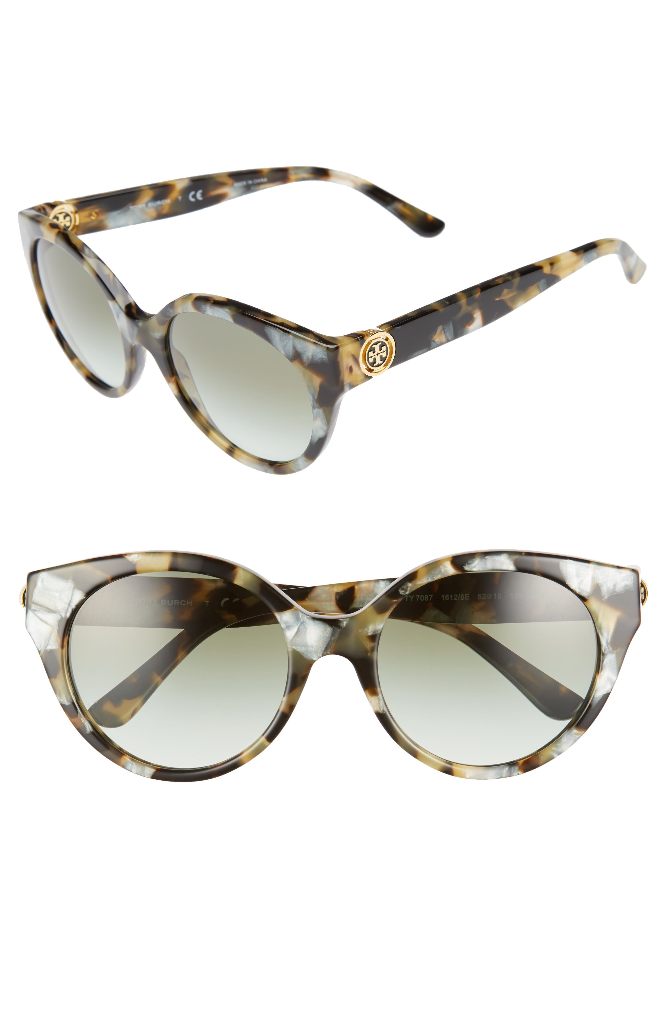 Tory Burch 52mm Retro Sunglasses