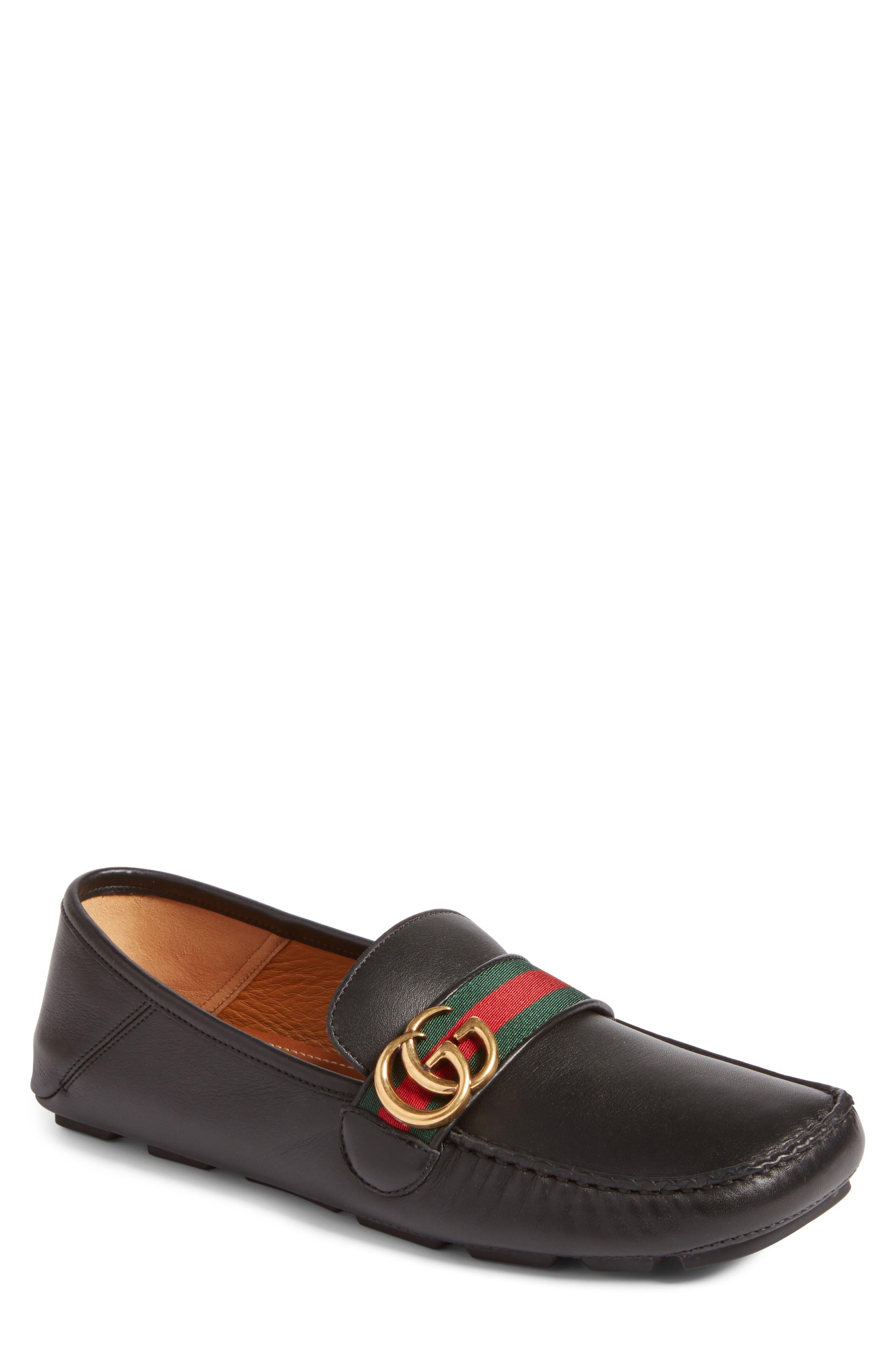 Gucci Noel Driving Convertible Heel Shoe (Men)