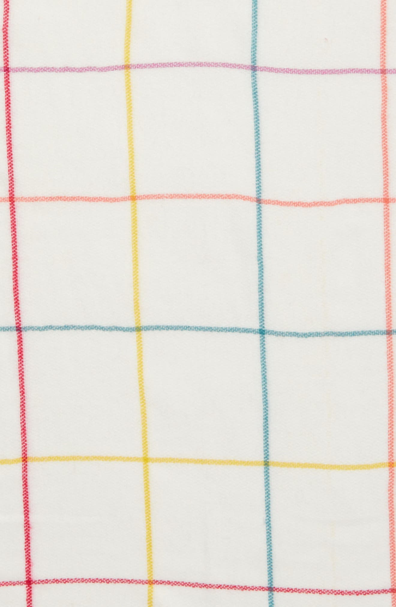 Alternate Image 3  - BP. Multicolor Grid Square Scarf