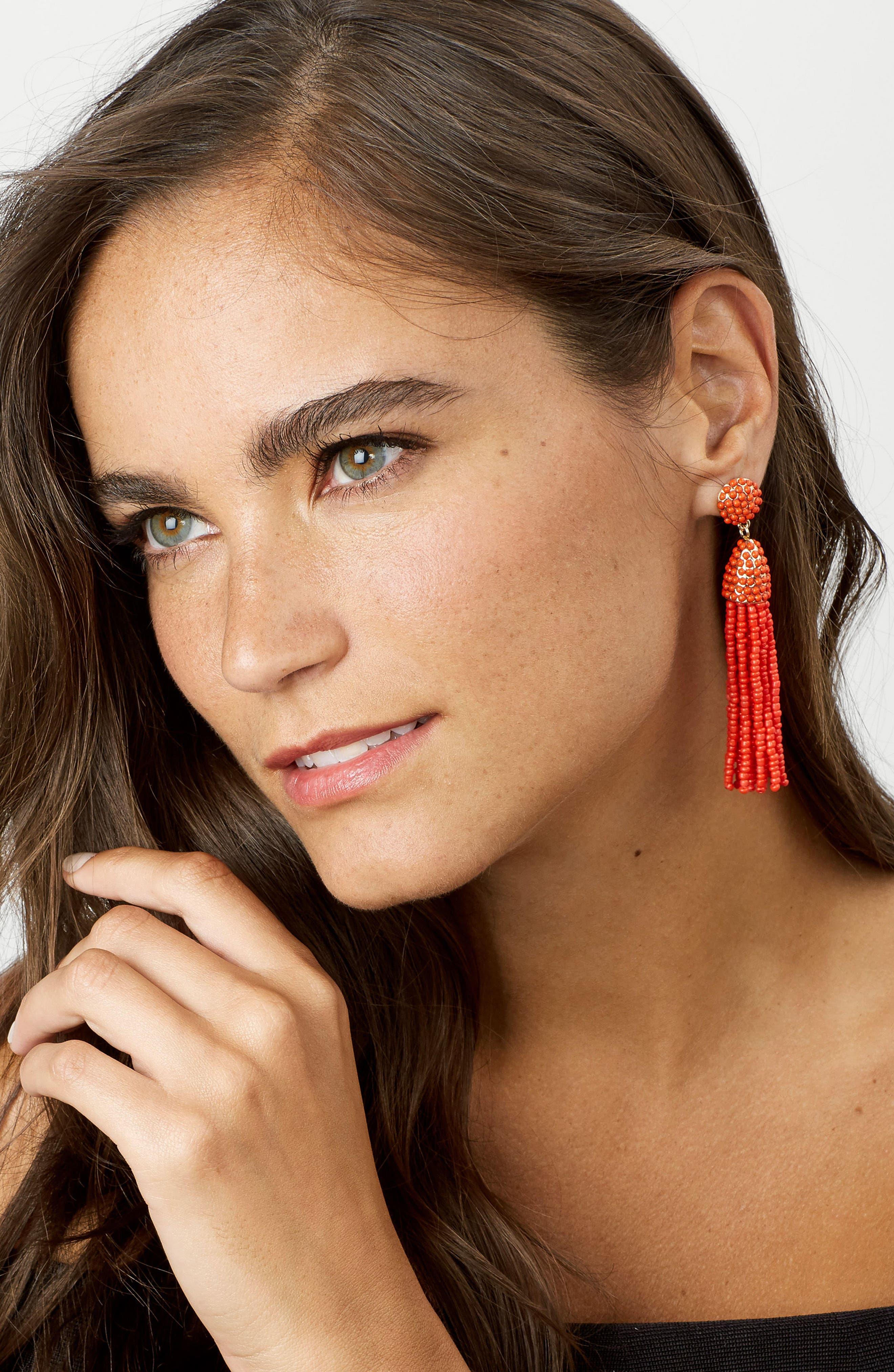 Alternate Image 2  - BaubleBar 'Piñata' Tassel Earrings