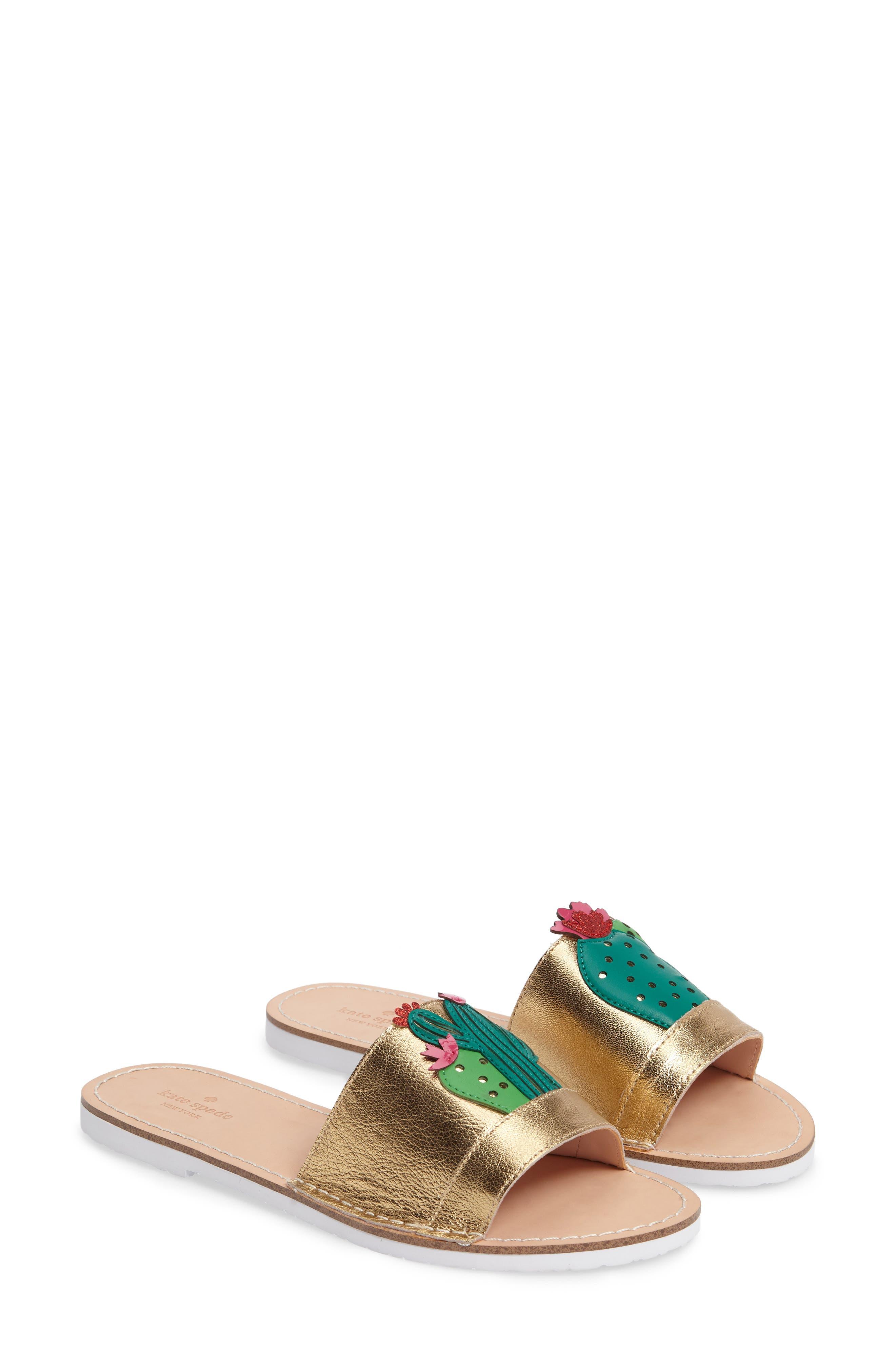 Alternate Image 1 Selected - kate spade new york iguana slide sandal (Women)