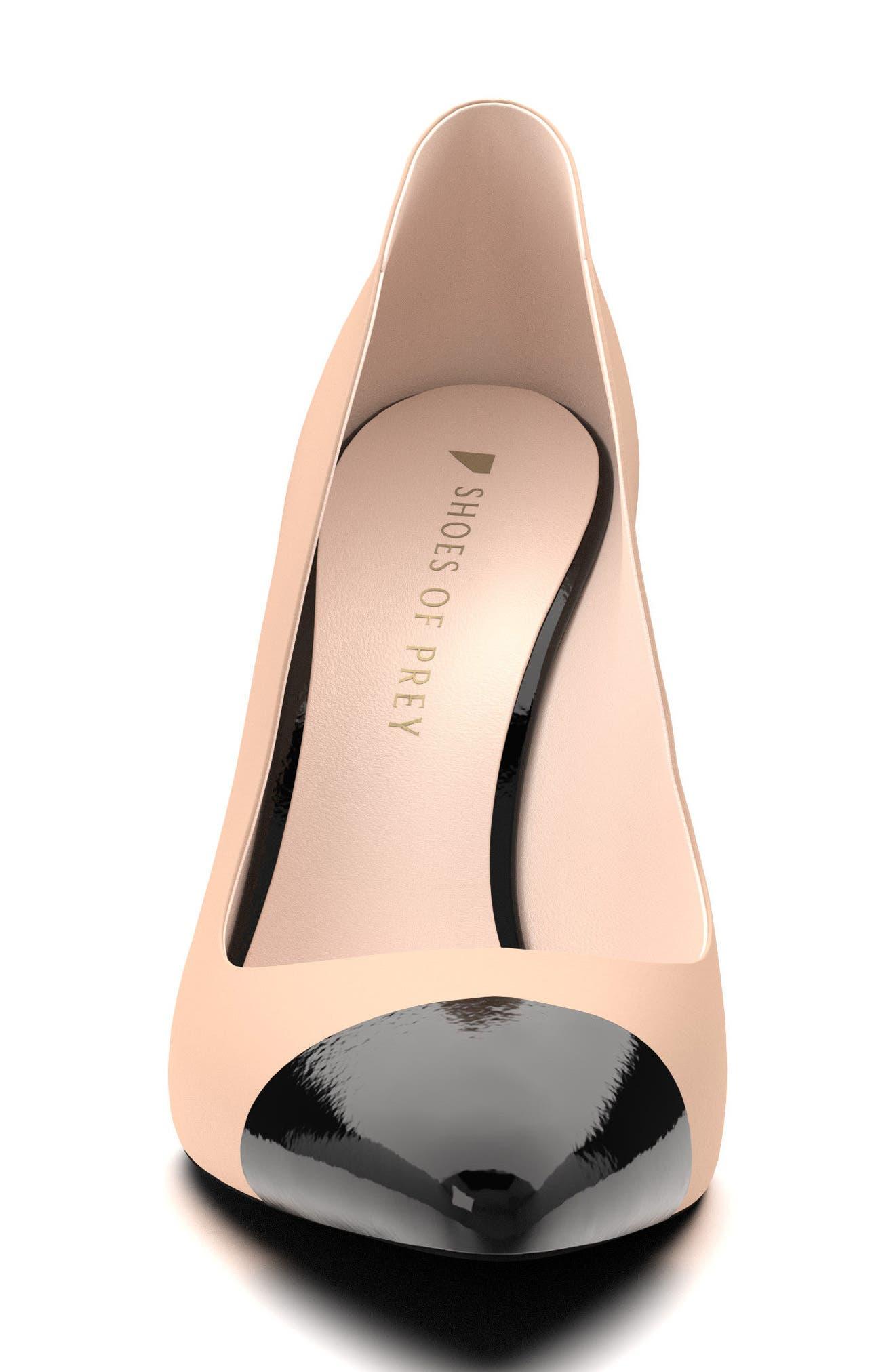 Alternate Image 4  - Shoes of Prey Cap Toe Pump (Women)