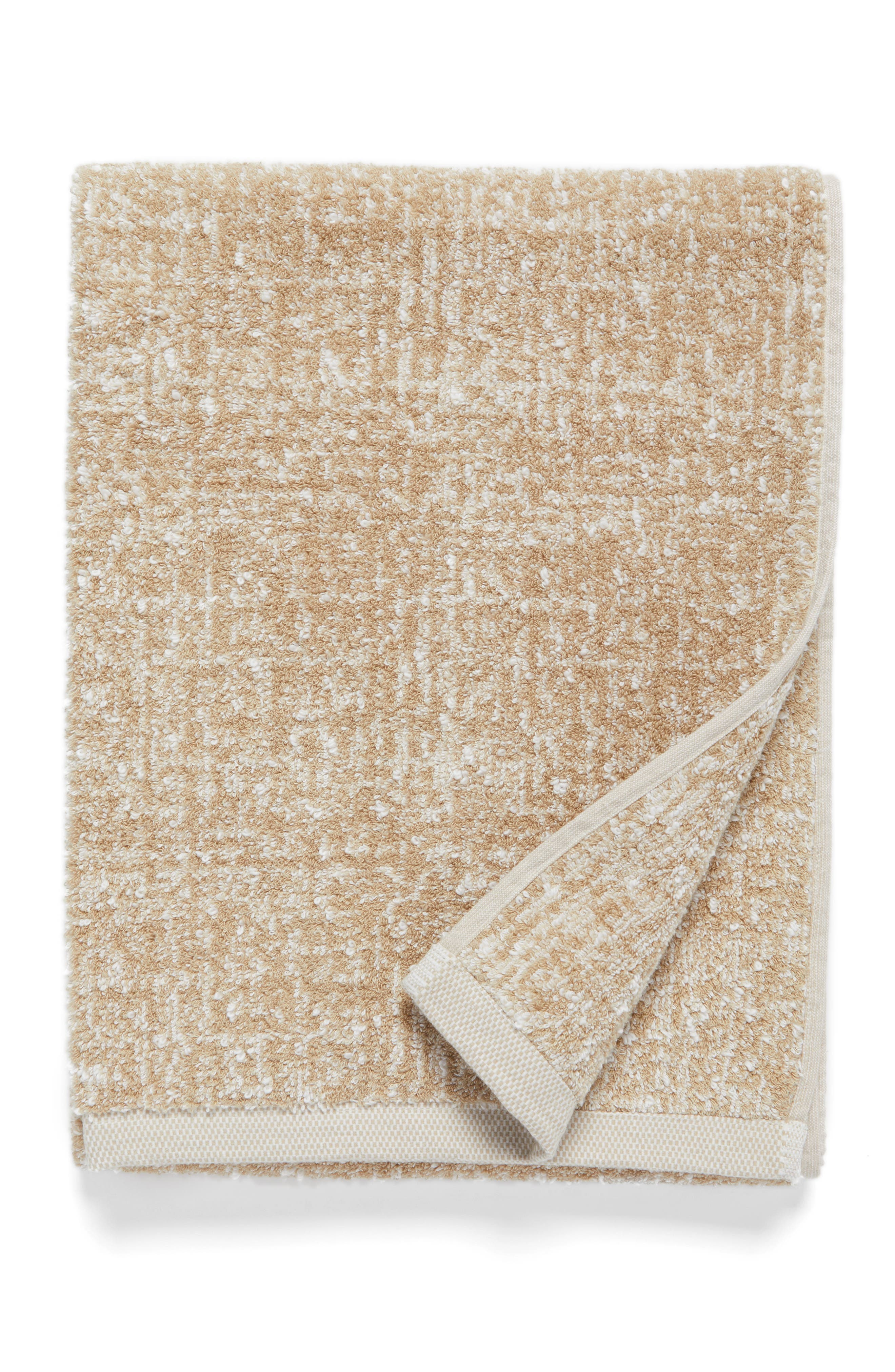 Nordstrom at Home Tweed Jacquard Bath Towel (2 for $49)