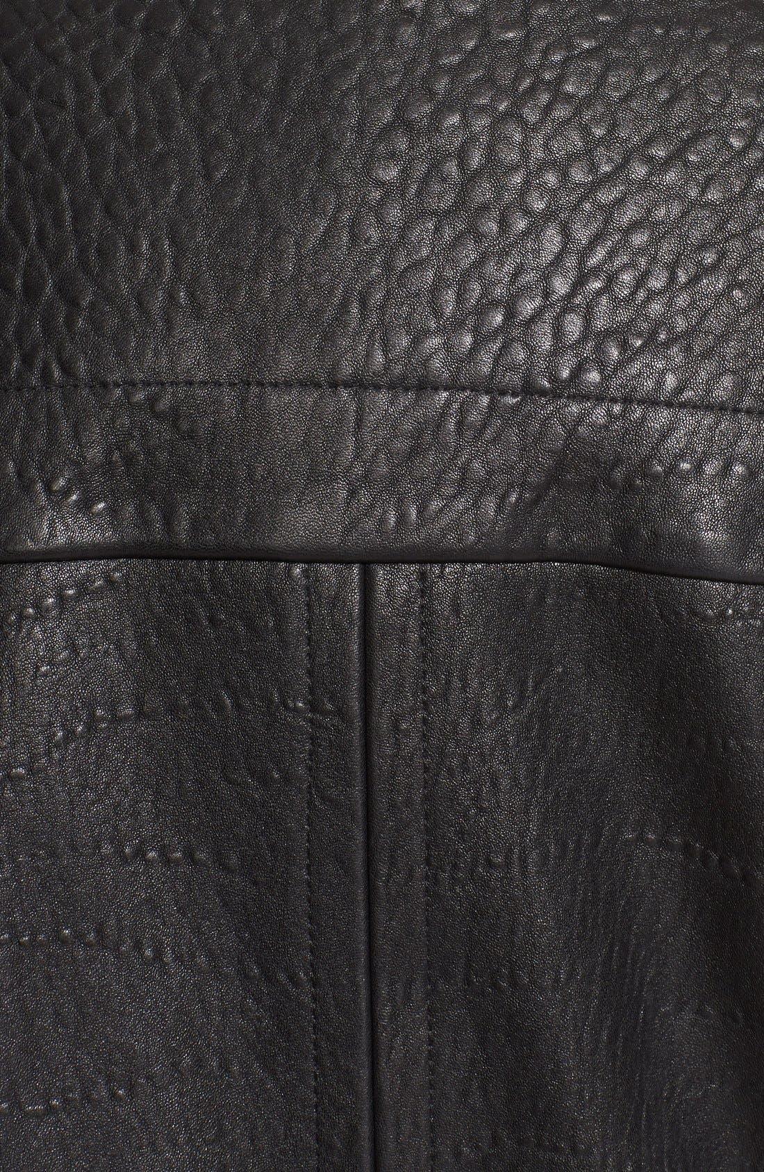 Alternate Image 3  - Helmut Lang 'Forge' Leather Moto Jacket
