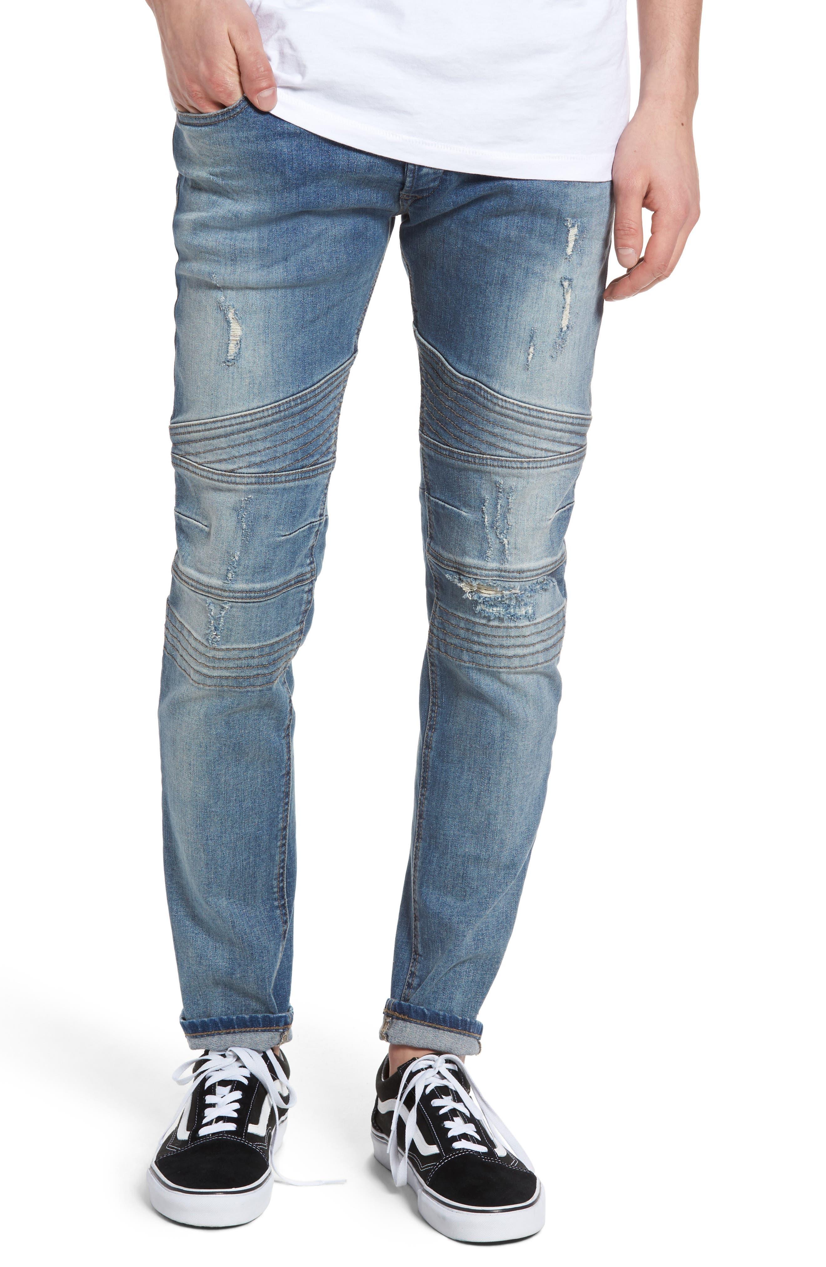 DIESEL® Fourk Skinny Fit Jeans (C84GL)