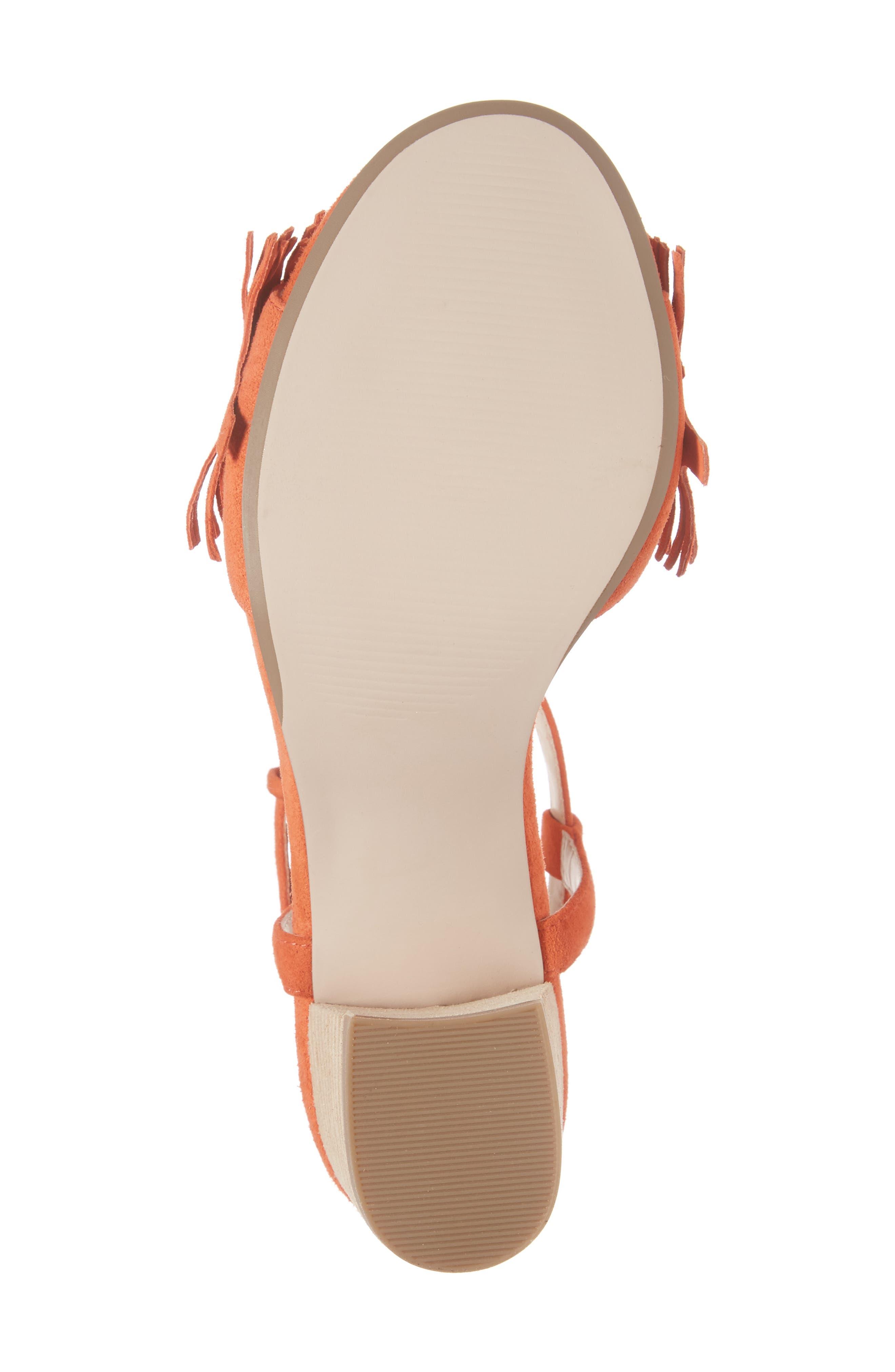 Alternate Image 6  - Sole Society Sepia Fringe Sandal (Women)