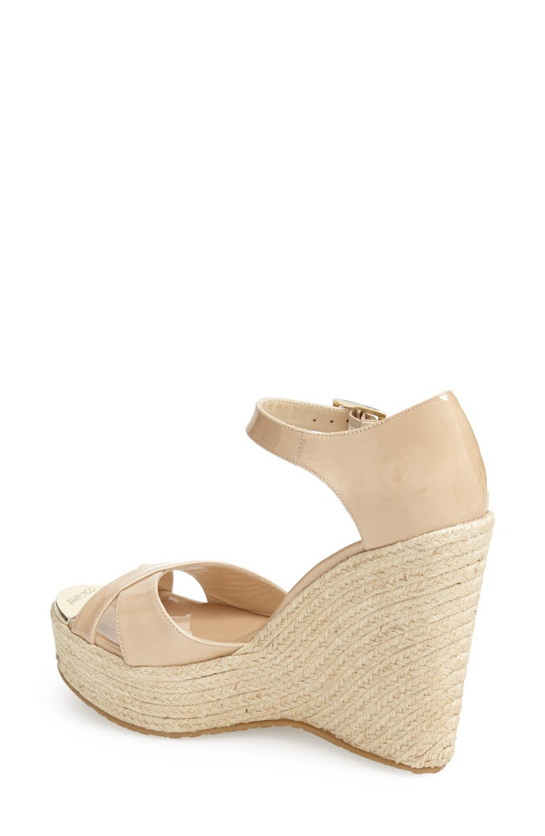 Alternate Image 2  - Jimmy Choo 'Pallis' Wedge Sandal (Nordstrom Exclusive)