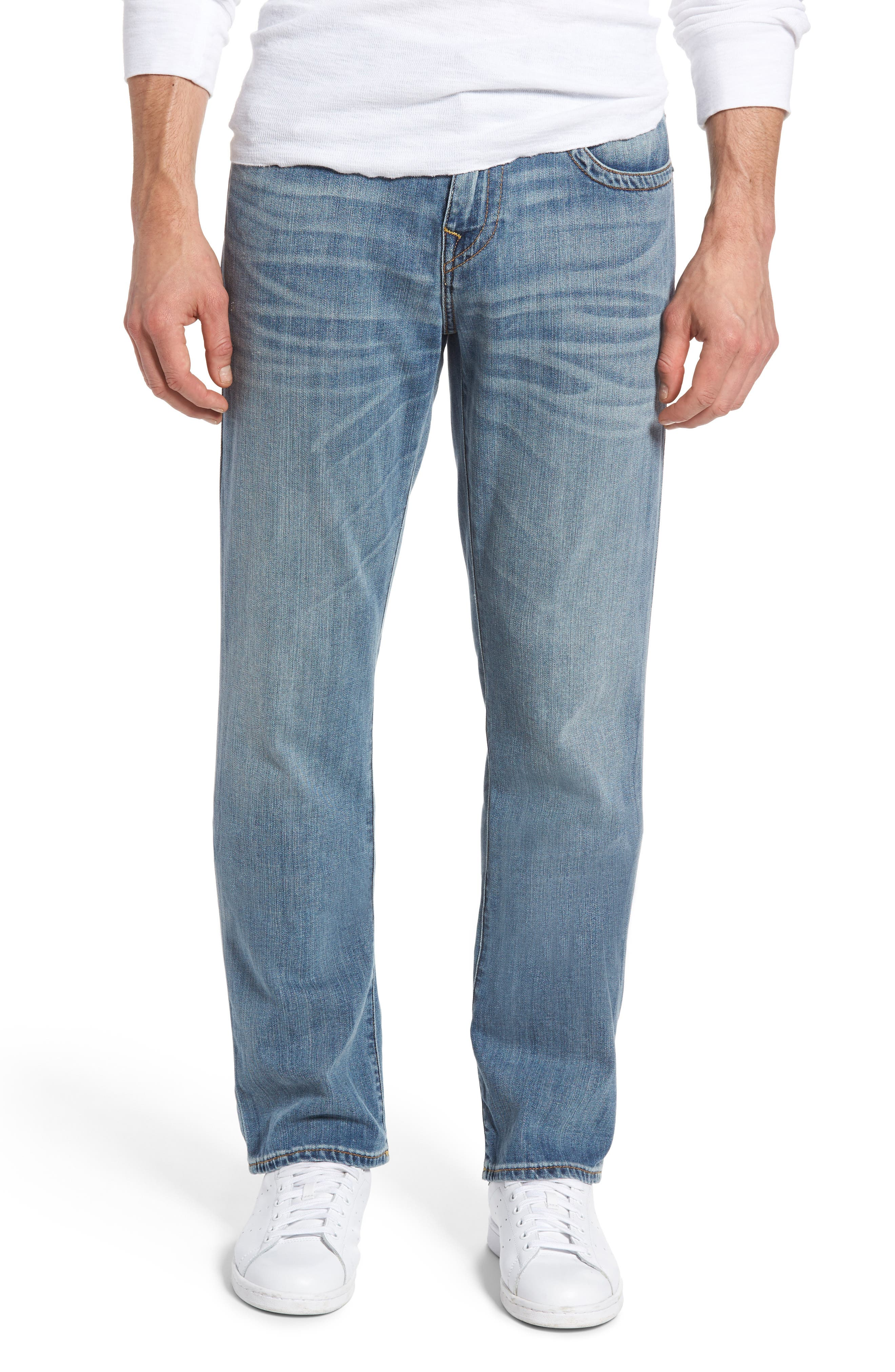 True Religion Brand Jeans Ricky Relaxed Fit Jeans (Caravan)