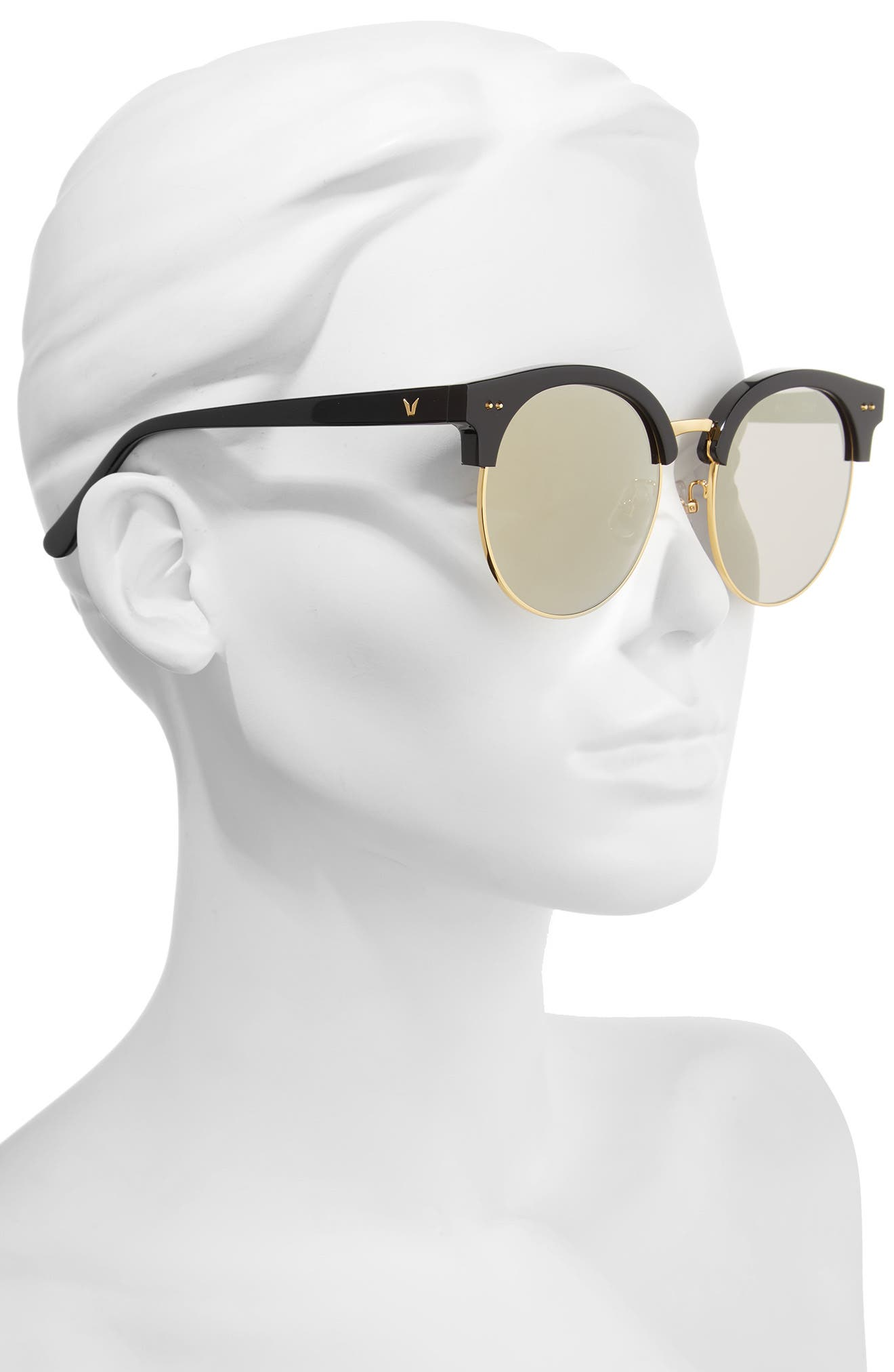 Alternate Image 2  - Gentle Monster Moon Cut 54mm Rounded Sunglasses
