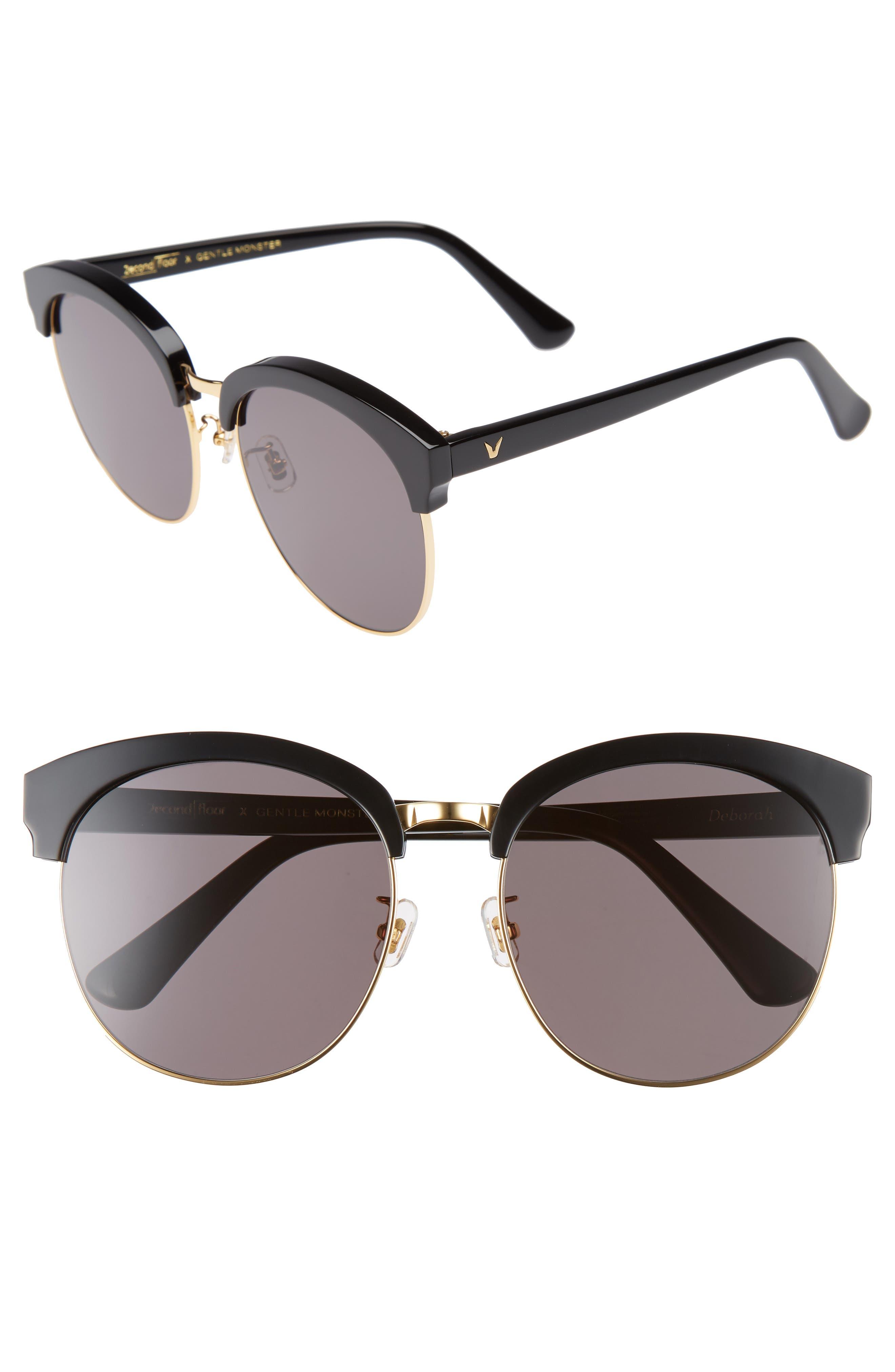 Gentle Monster Deborah 60mm Retro Sunglasses