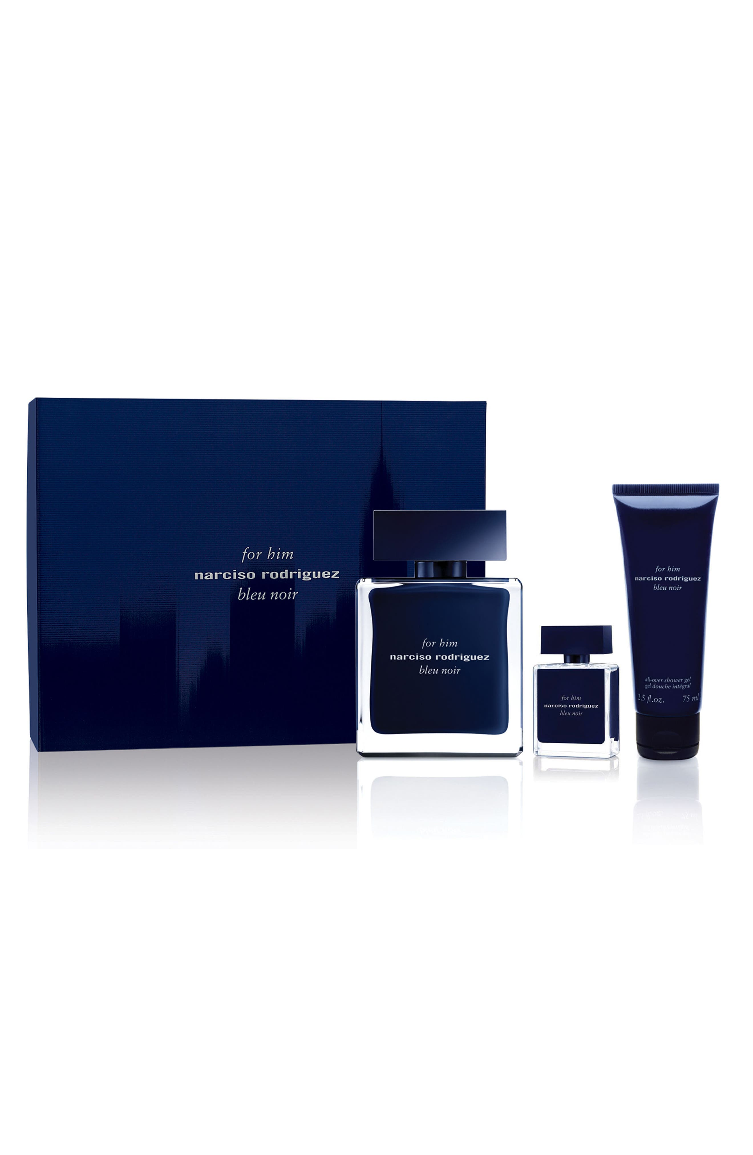 Narciso Rodriguez For Him Bleu Noir Set ($132 Value)