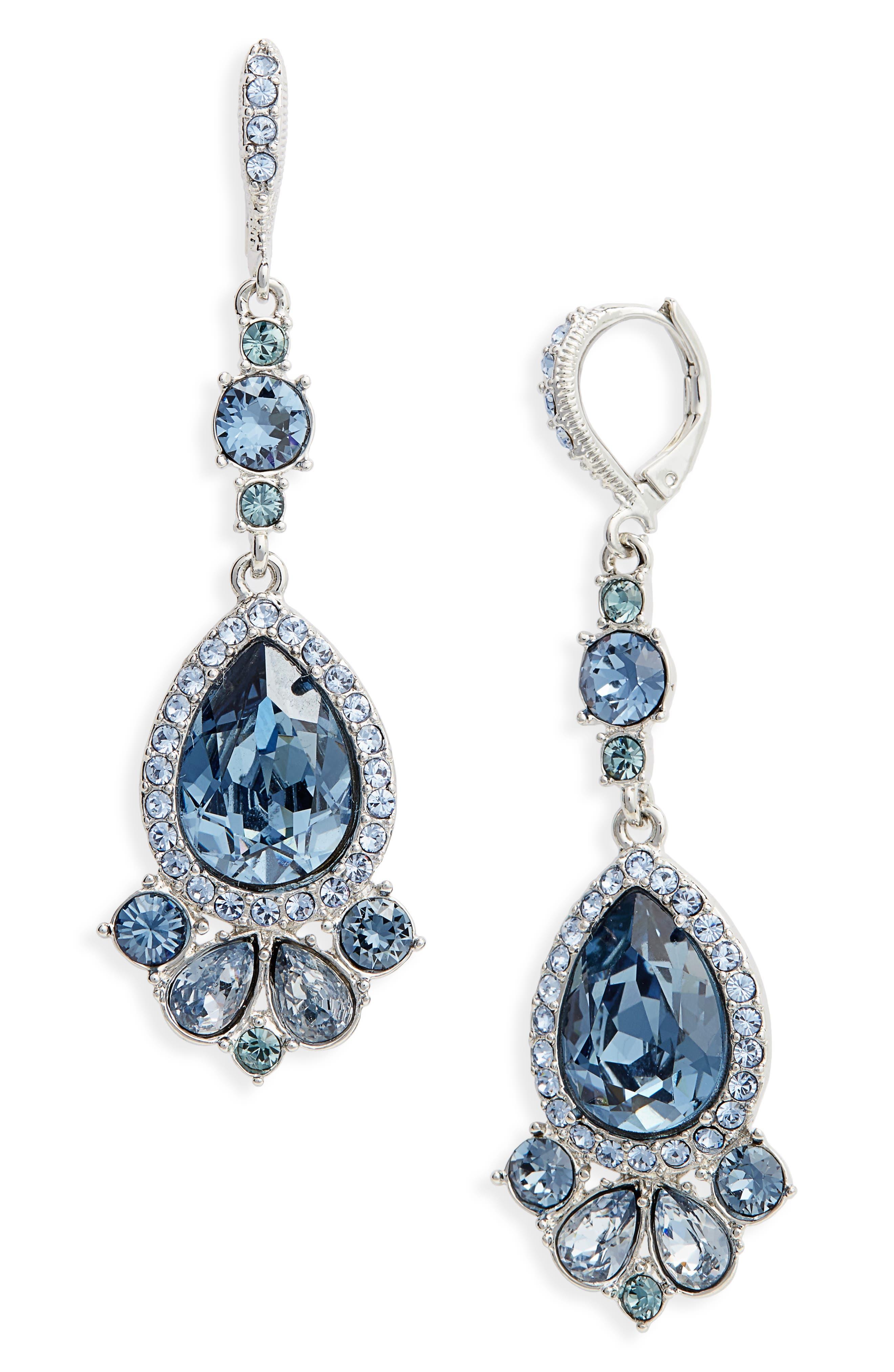 Givenchy Verona Large Pear Drop Earrings