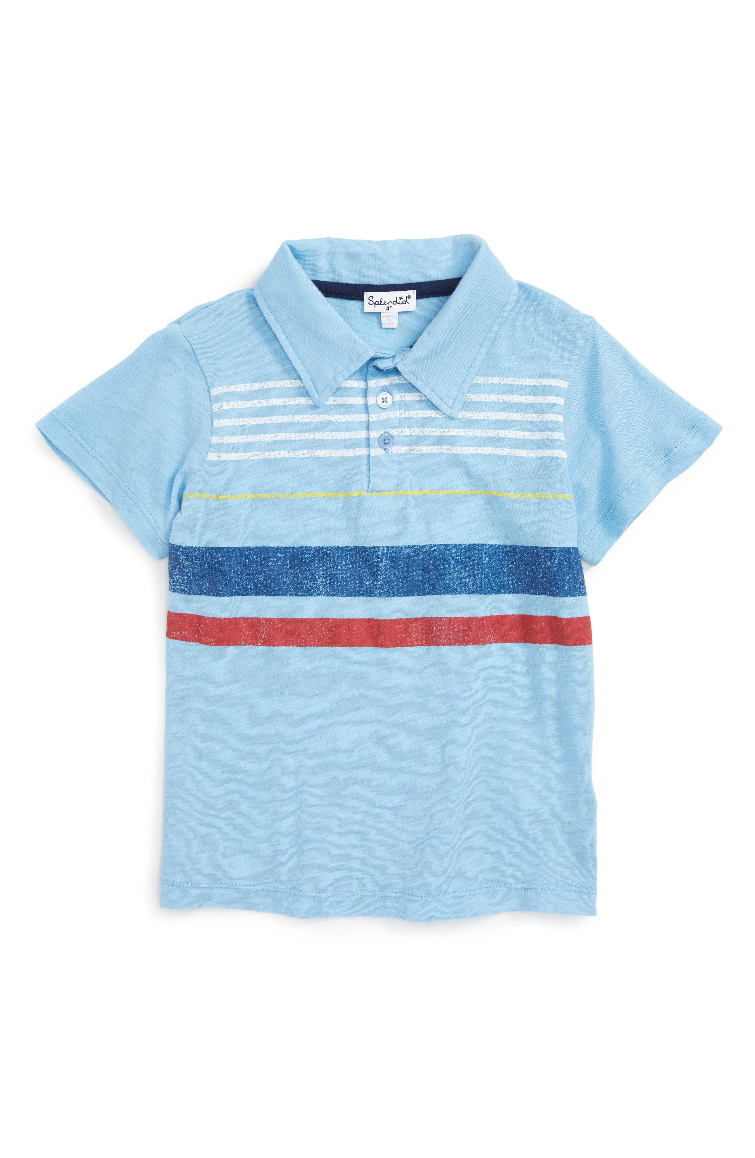 Splendid Stripe Polo (Toddler Boys & Little Boys)