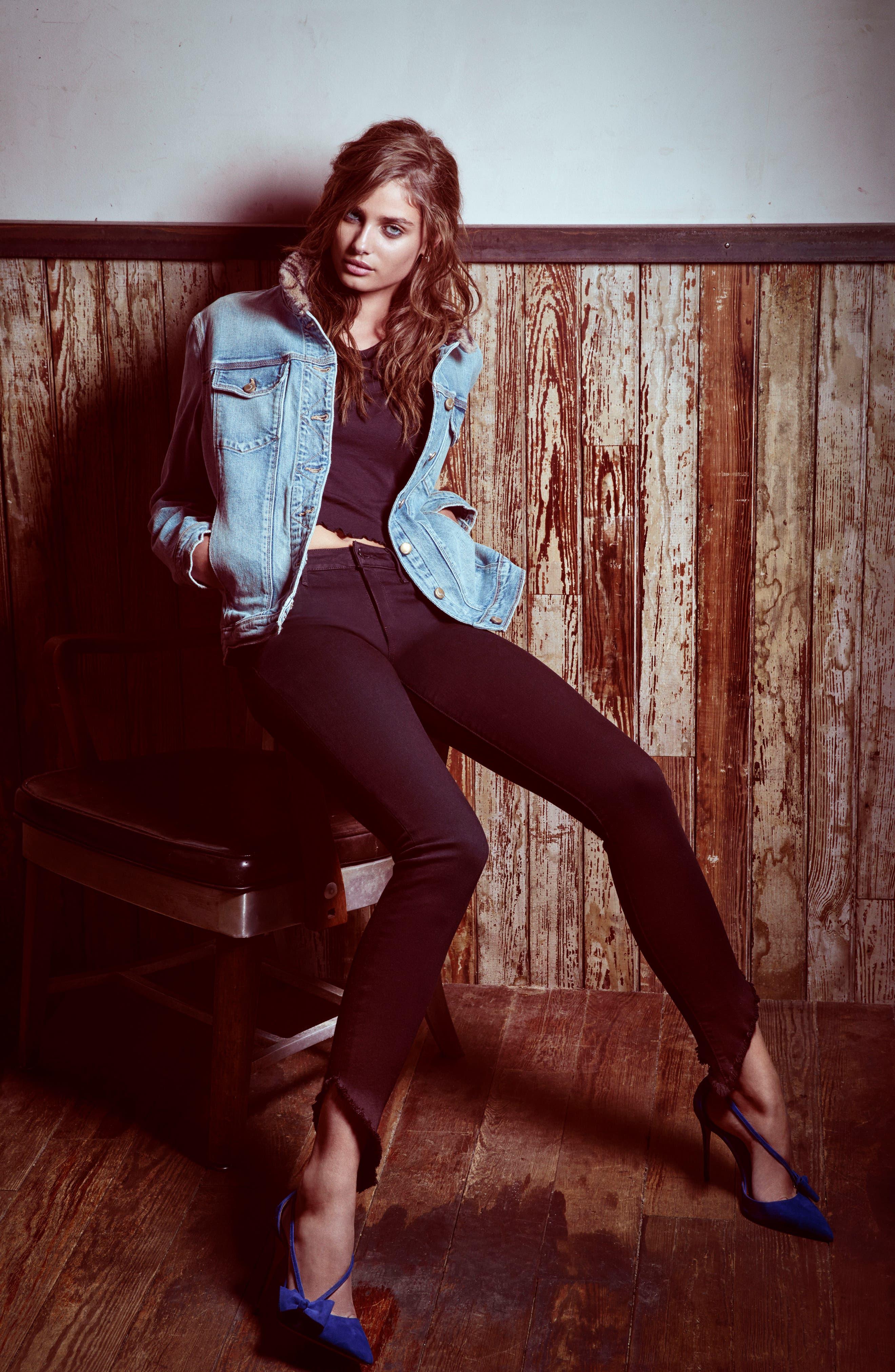 Alternate Image 2  - Joe's Flawless - Icon Ankle Skinny Jeans (Rosella)