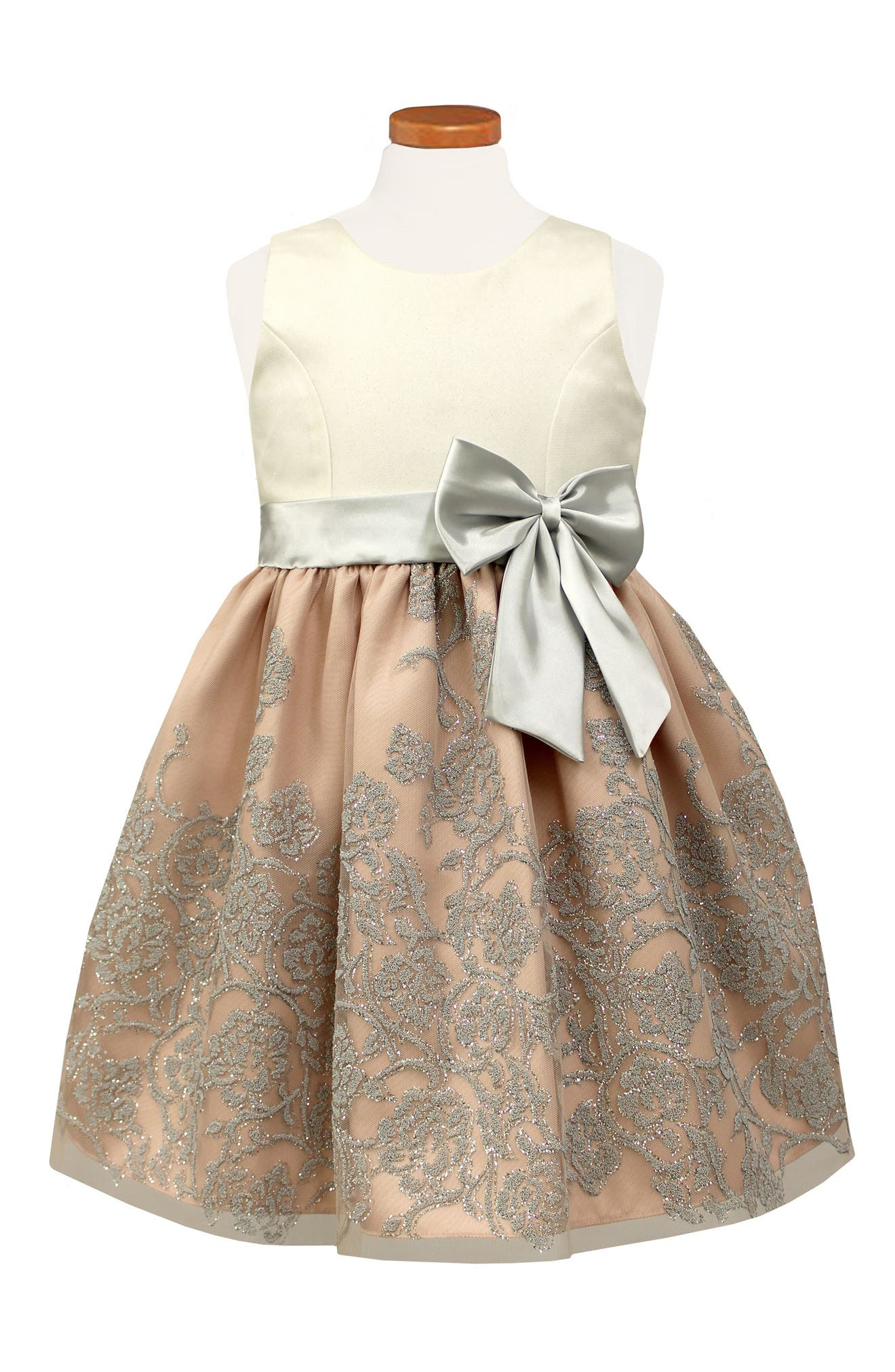 Sorbet Glitter Party Dress (Toddler Girls & Little Girls)