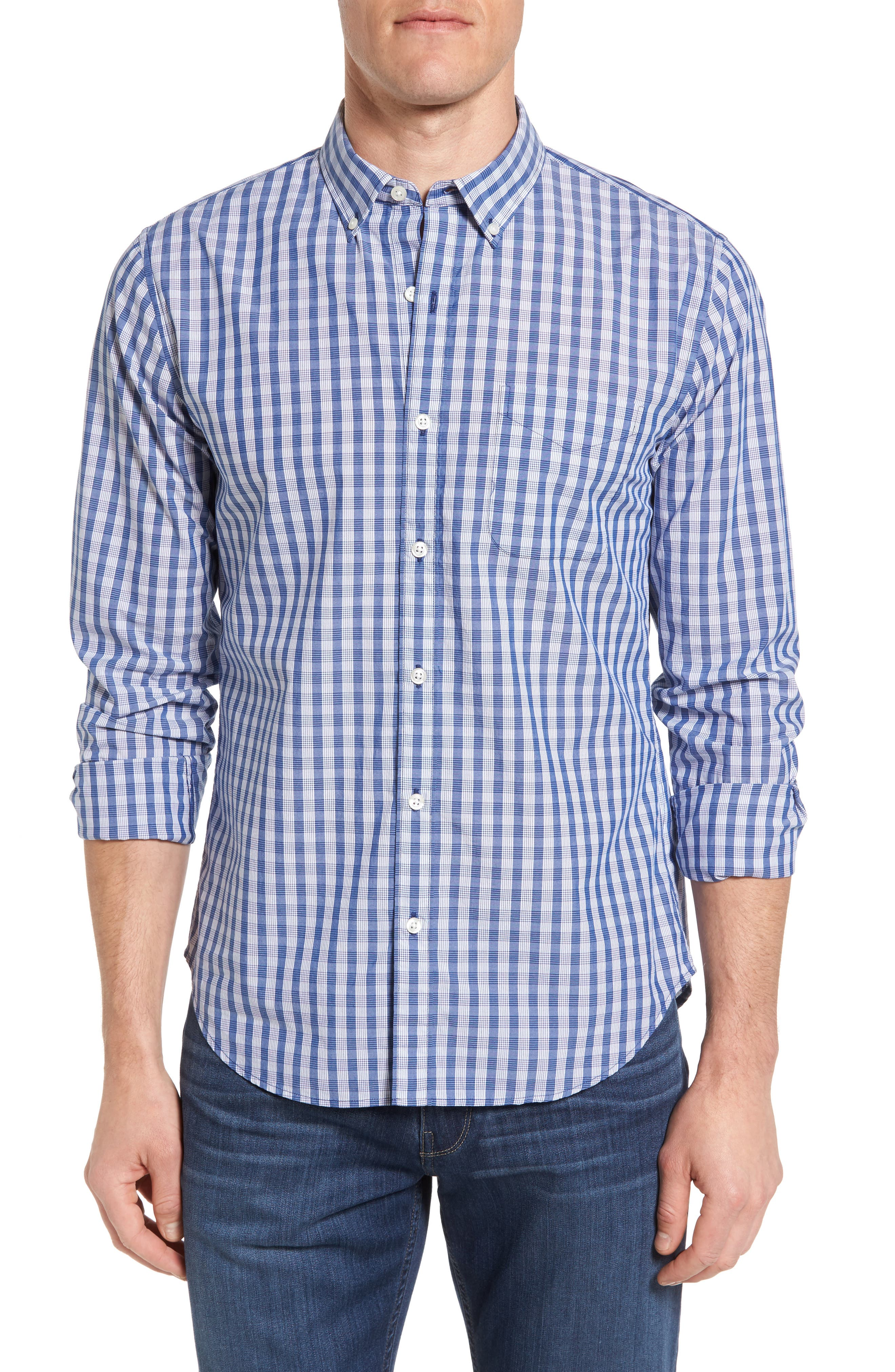 Bonobos Slim Fit Gingham Sport Shirt