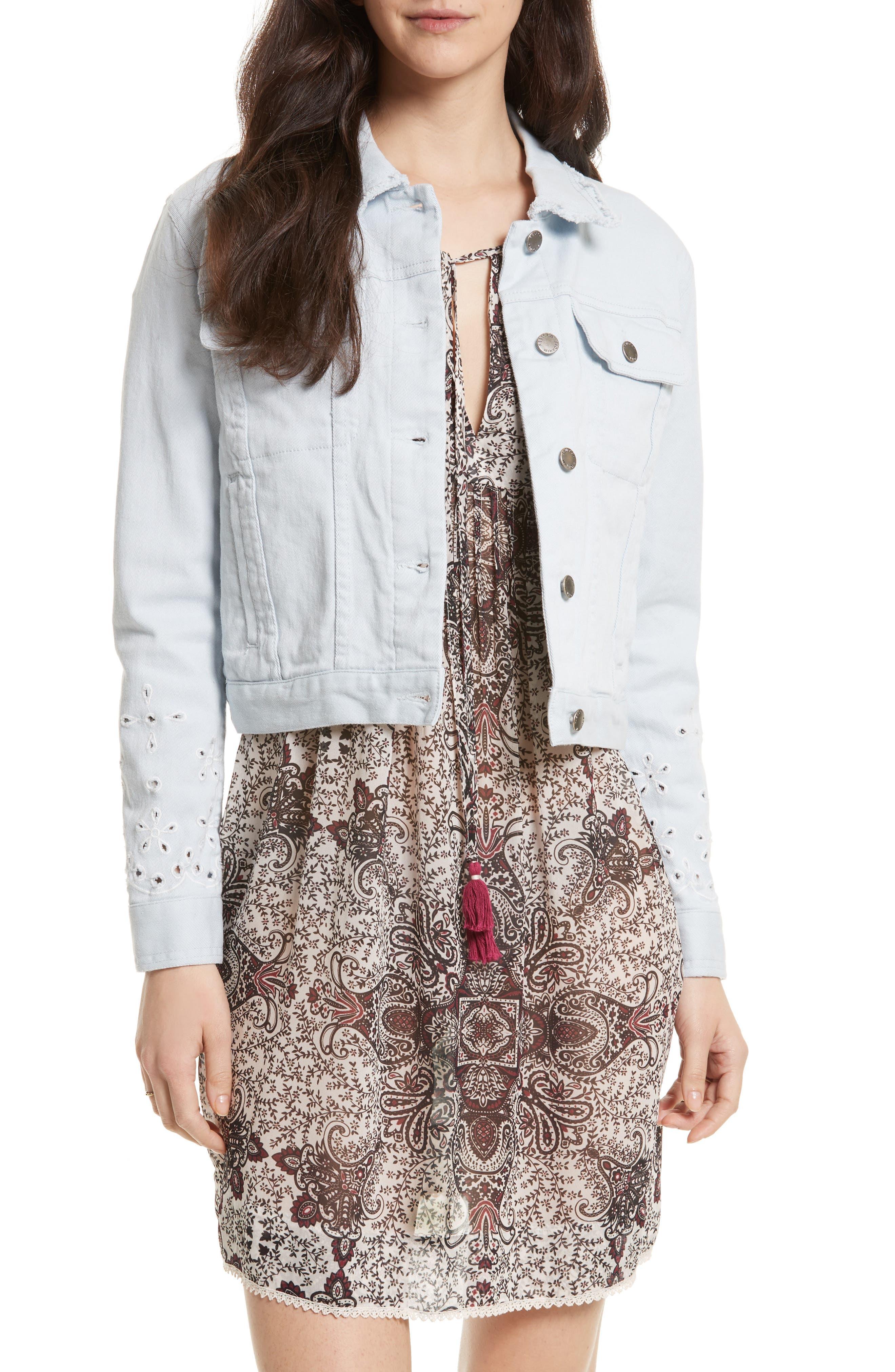Rebecca Minkoff Verona Denim Jacket