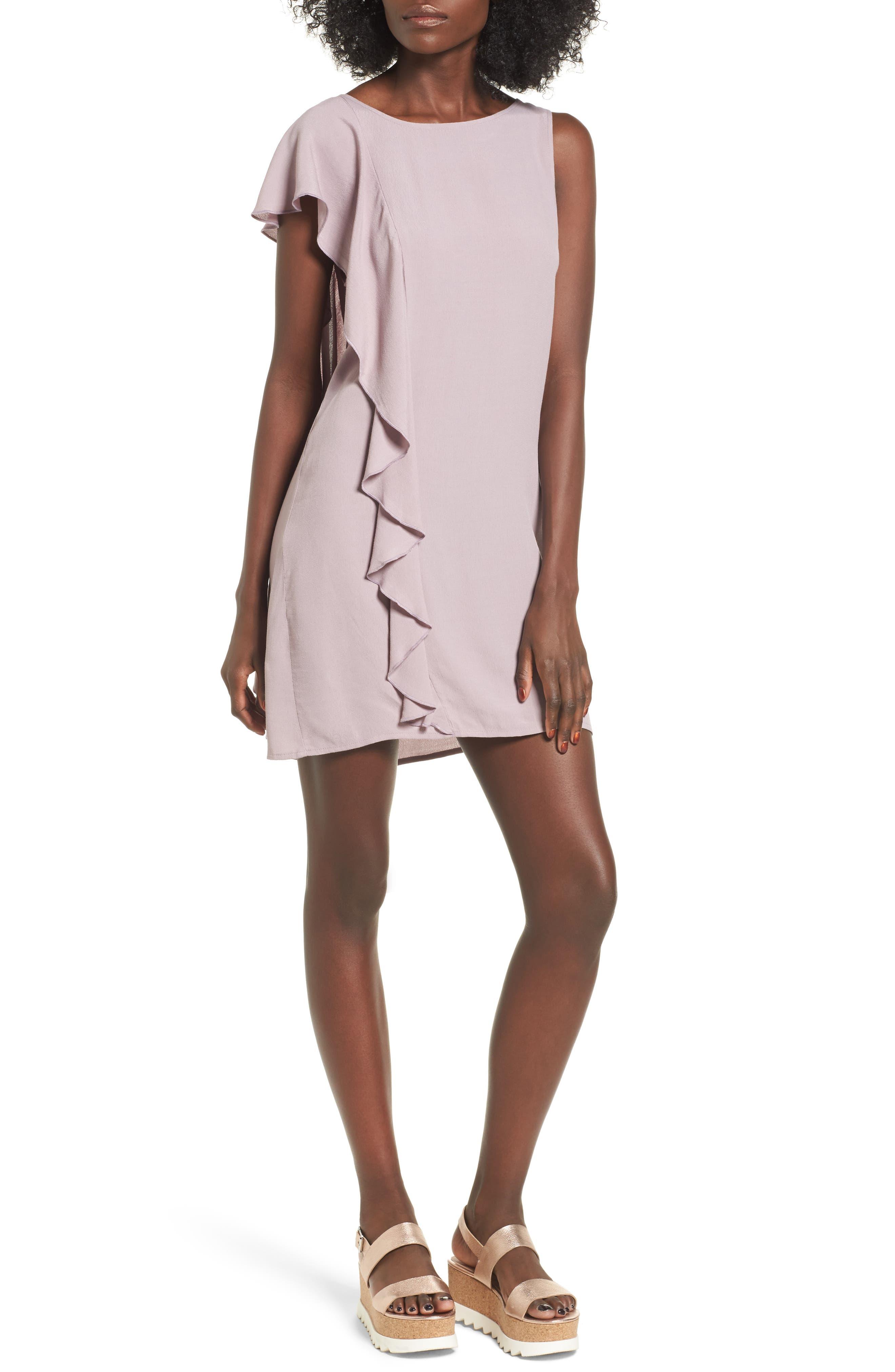 Leith Asymmetrical Shift Dress