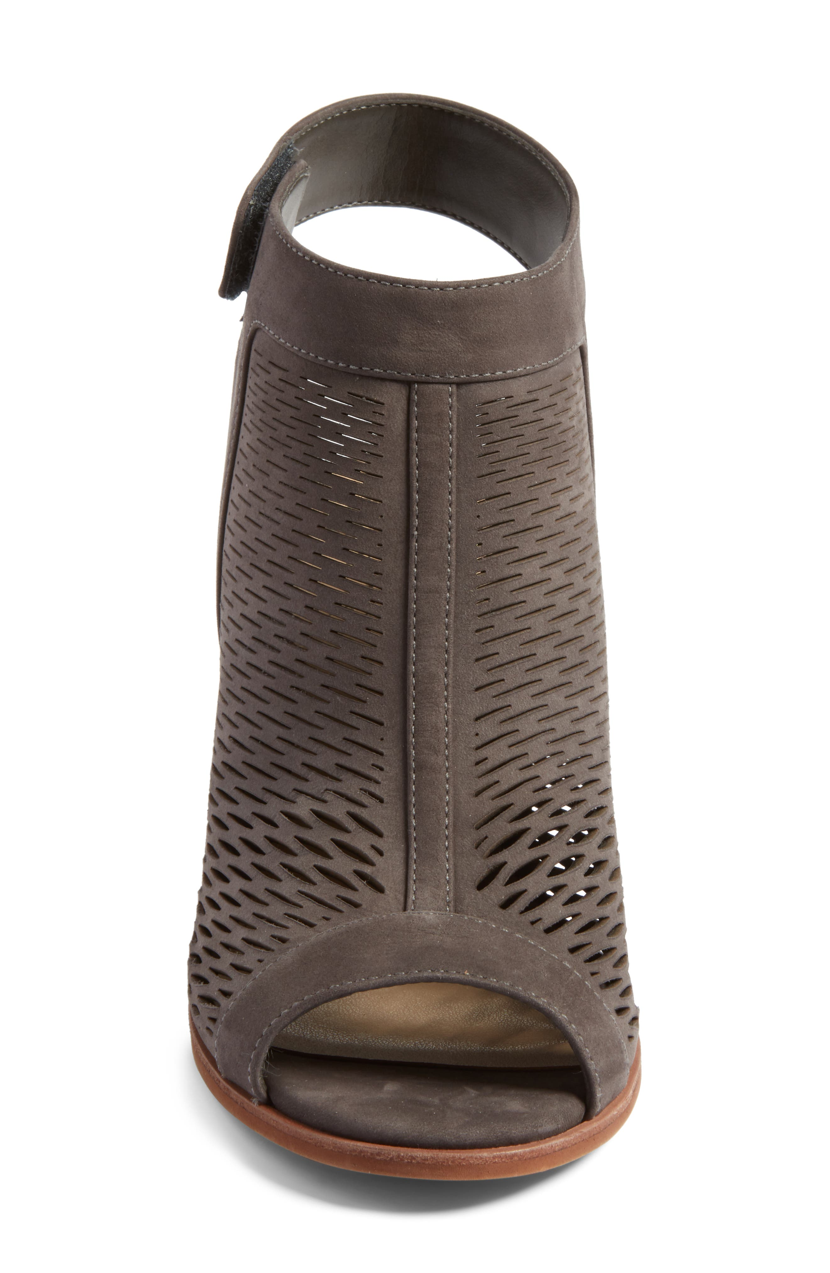 Alternate Image 4  - Vince Camuto 'Lavette' Perforated Peep Toe Bootie (Women) (Nordstrom Exclusive)