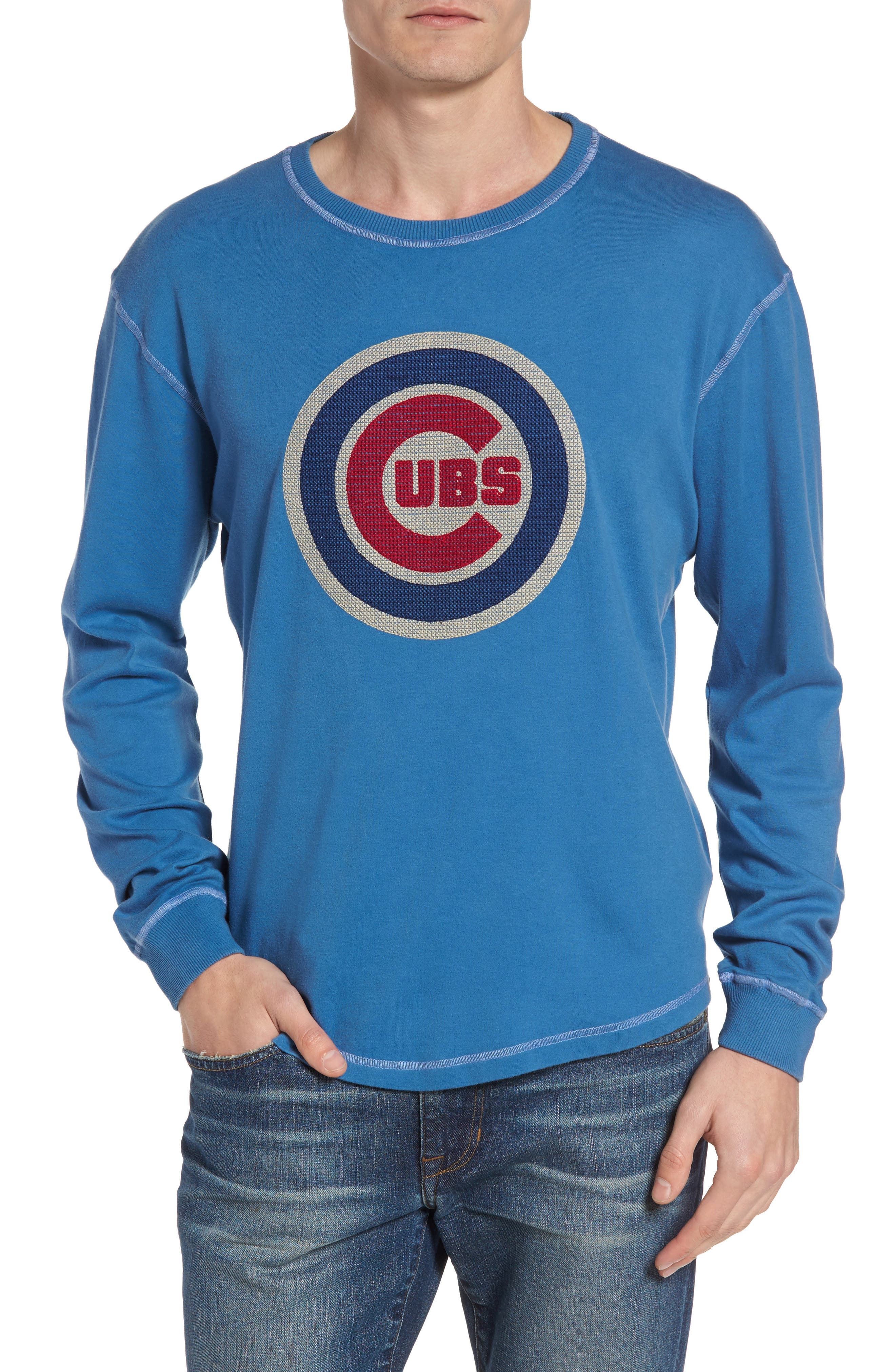 American Needle Rooted - Chicago Cubs Long Sleeve T-Shirt