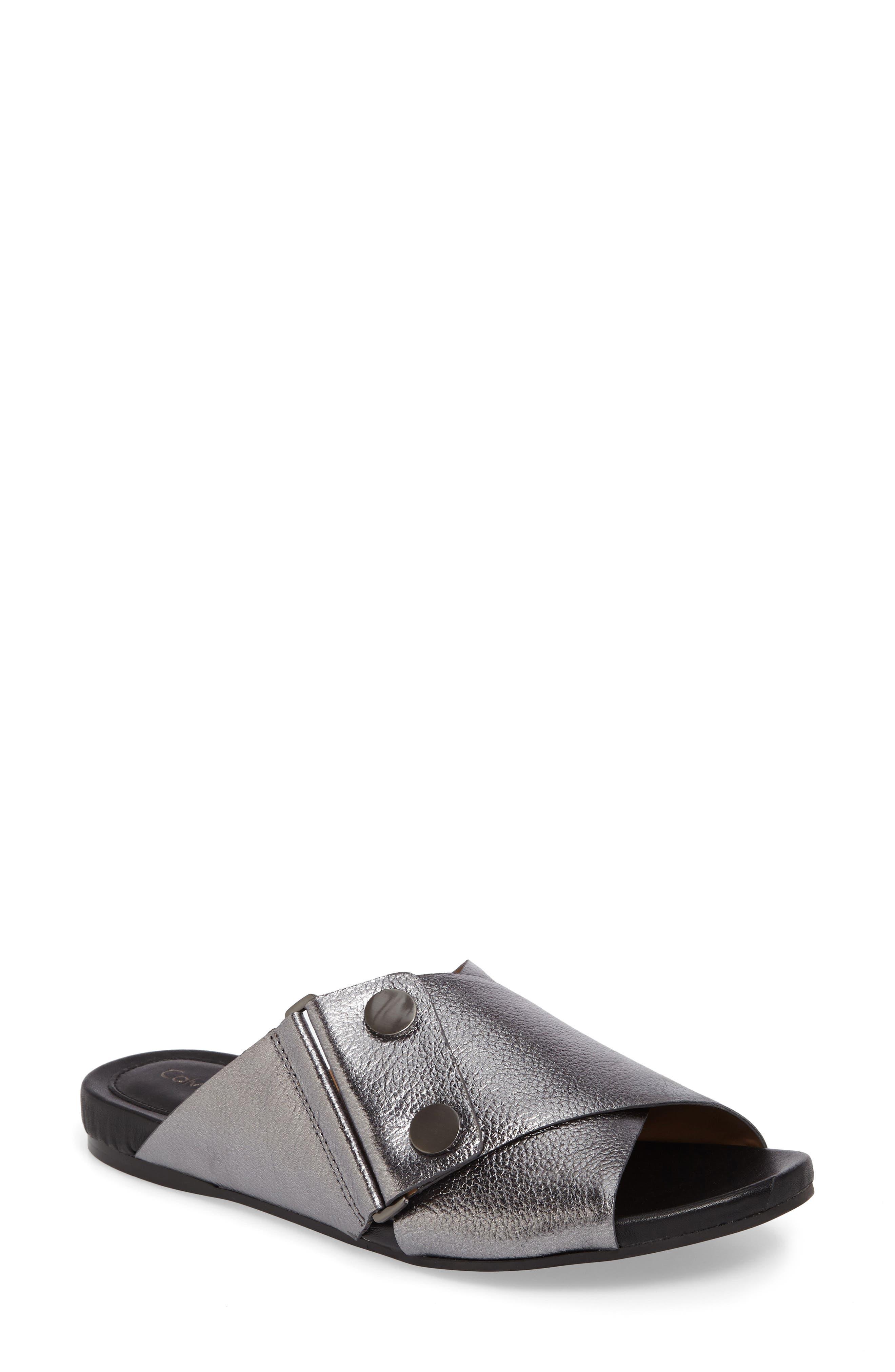 Calvin Klein Pamice Cross Strap Sandal (Women)