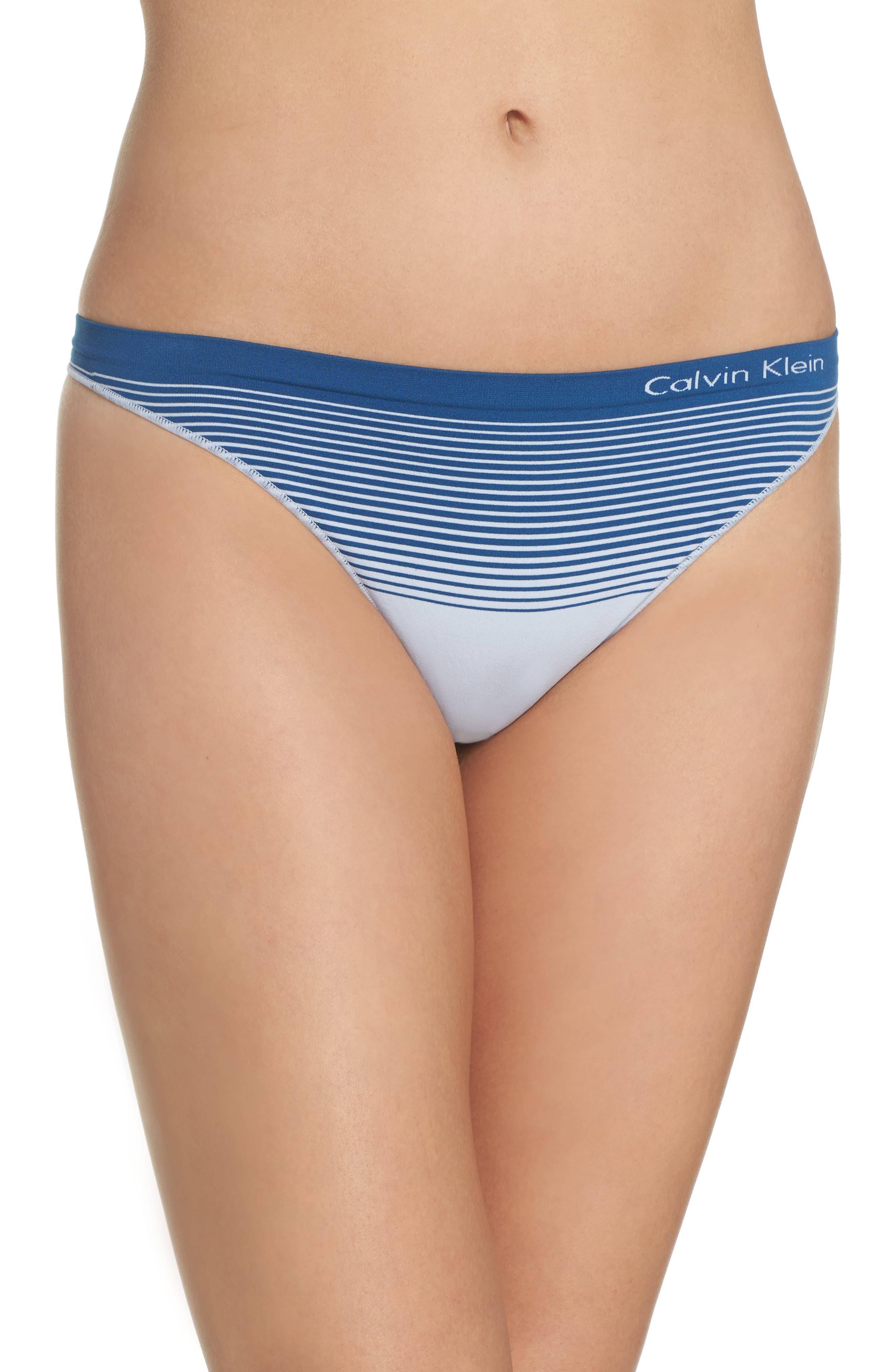 Calvin Klein Seamless Illusion Thong (3 for $33)
