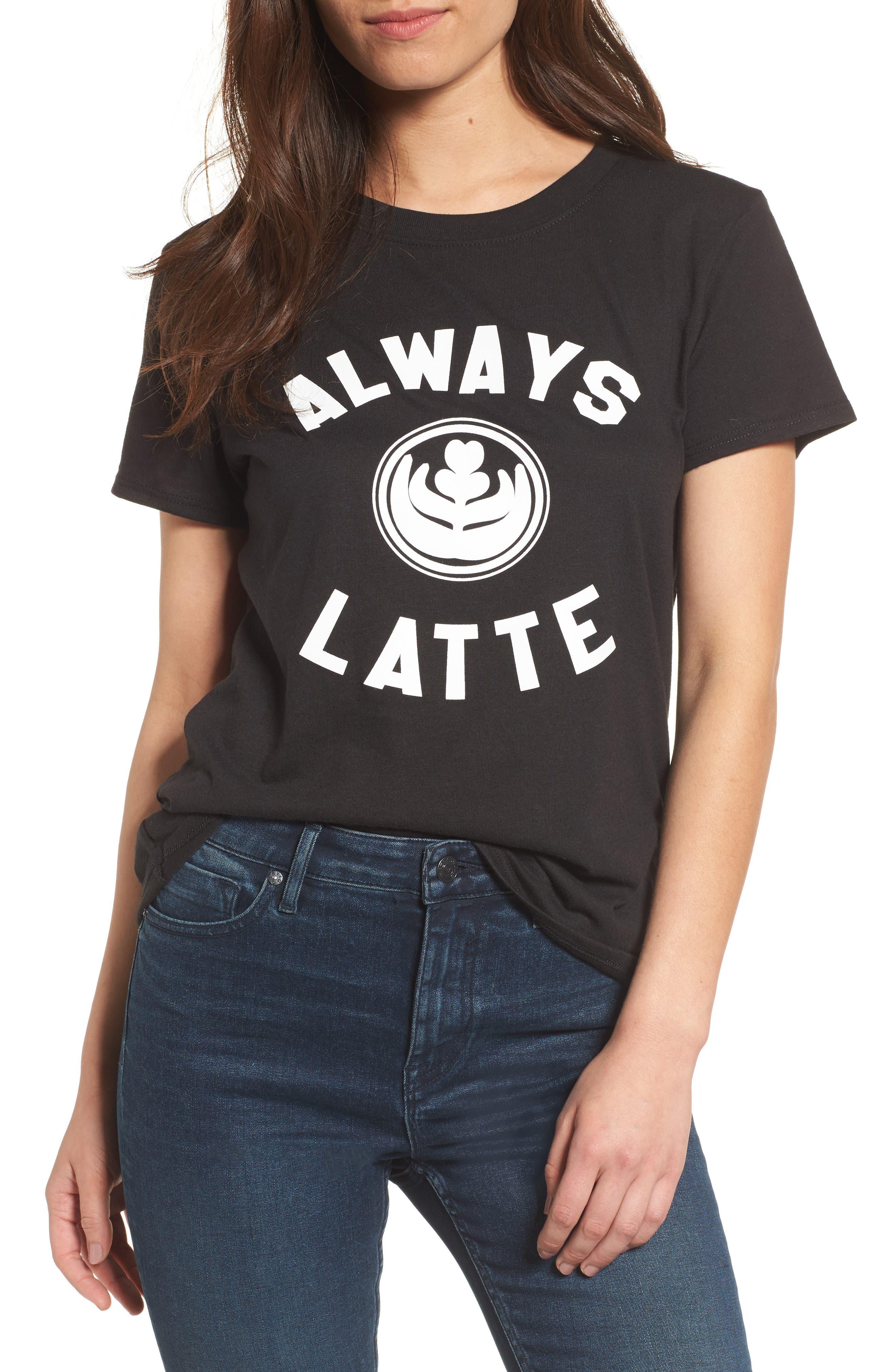 Alternate Image 1 Selected - Sub_Urban Riot Always Latte Tee