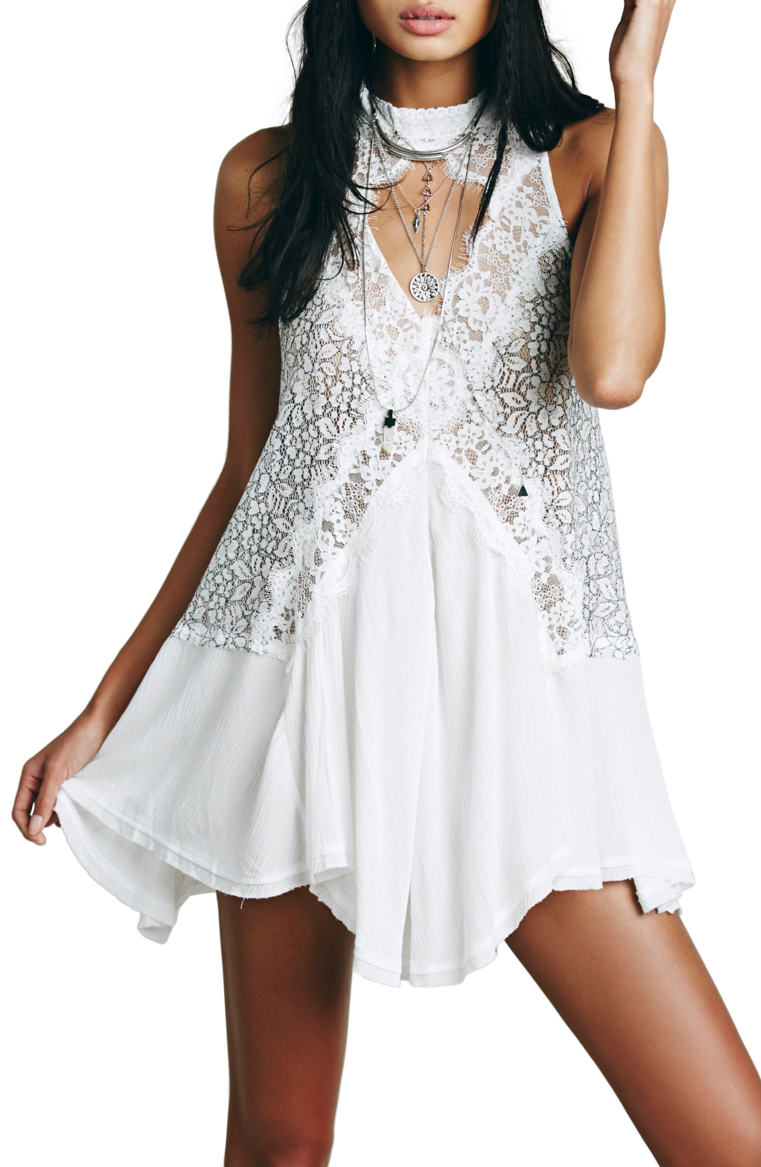 Free People Tell Tale Sleeveless Tunic