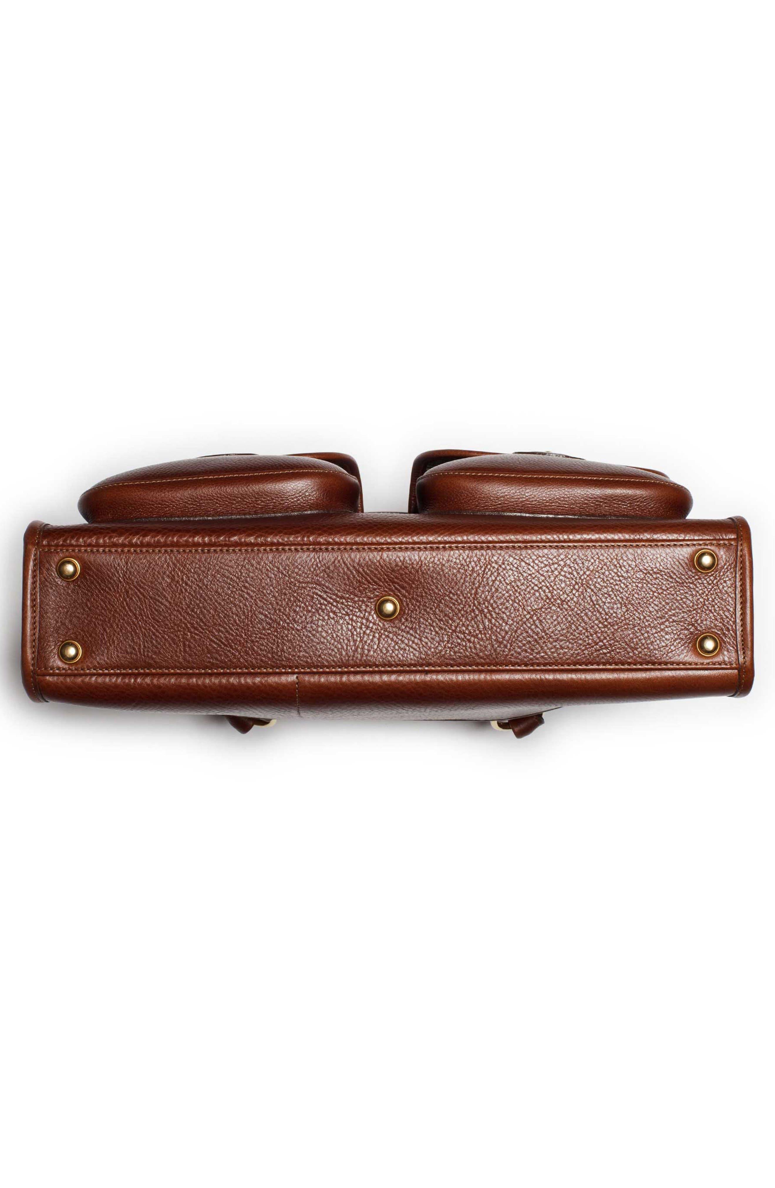 Alternate Image 5  - Ghurka 'Examiner' Leather Briefcase