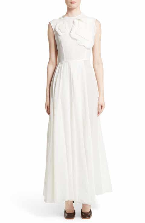 A.W.A.K.E. Double Layer Organdy Dress