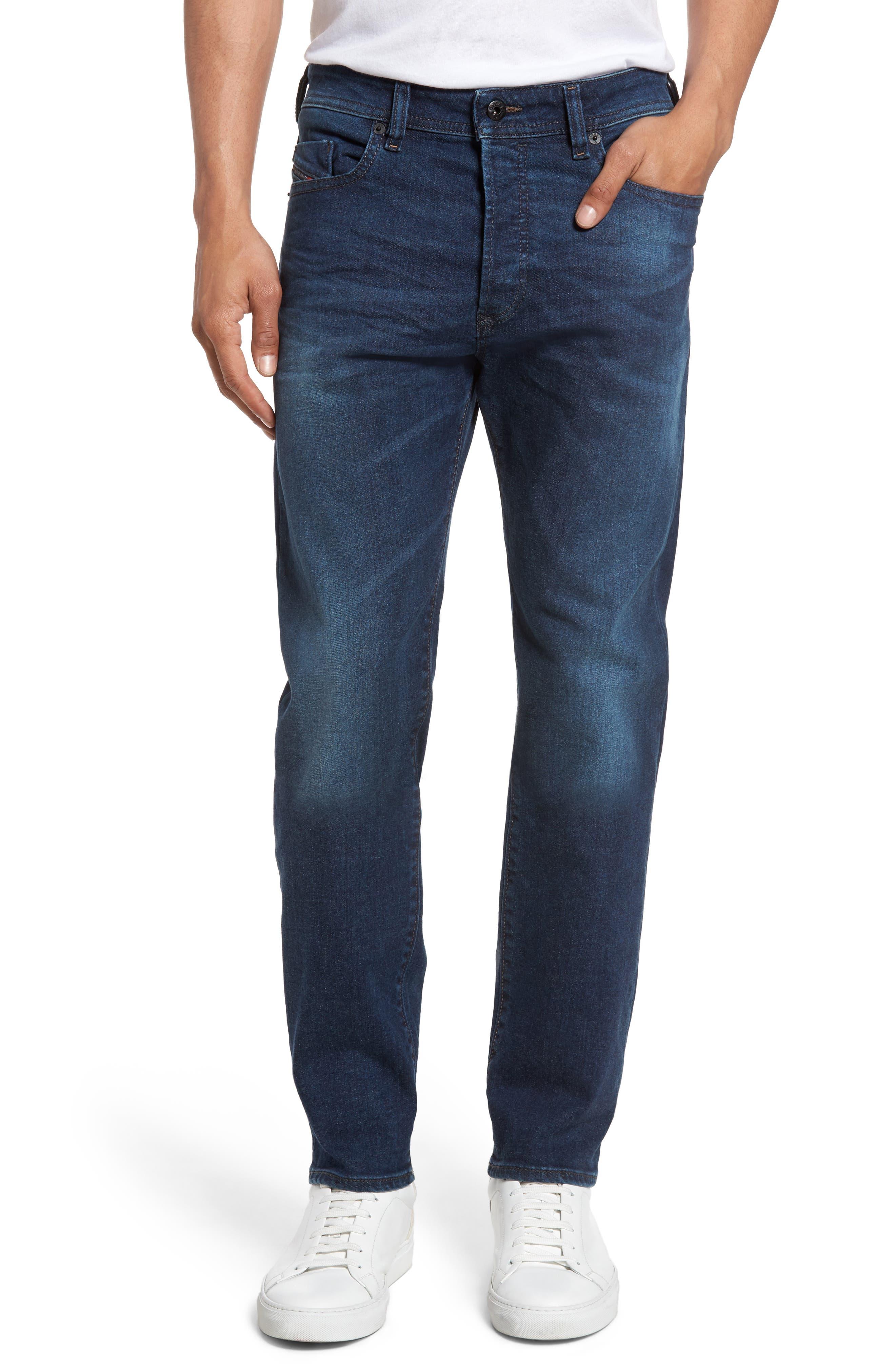 DIESEL® Buster Slim Straight Leg Jeans (C679I)