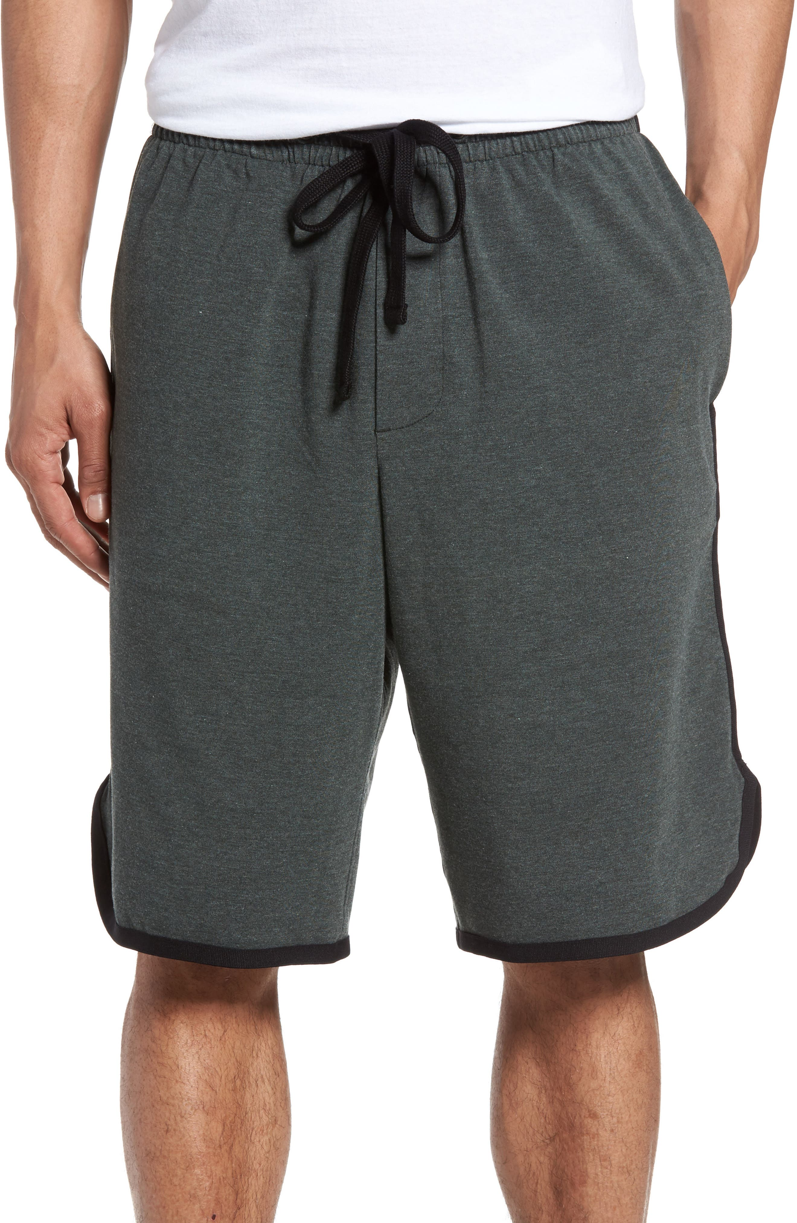 James Perse Drawstring Basketball Shorts
