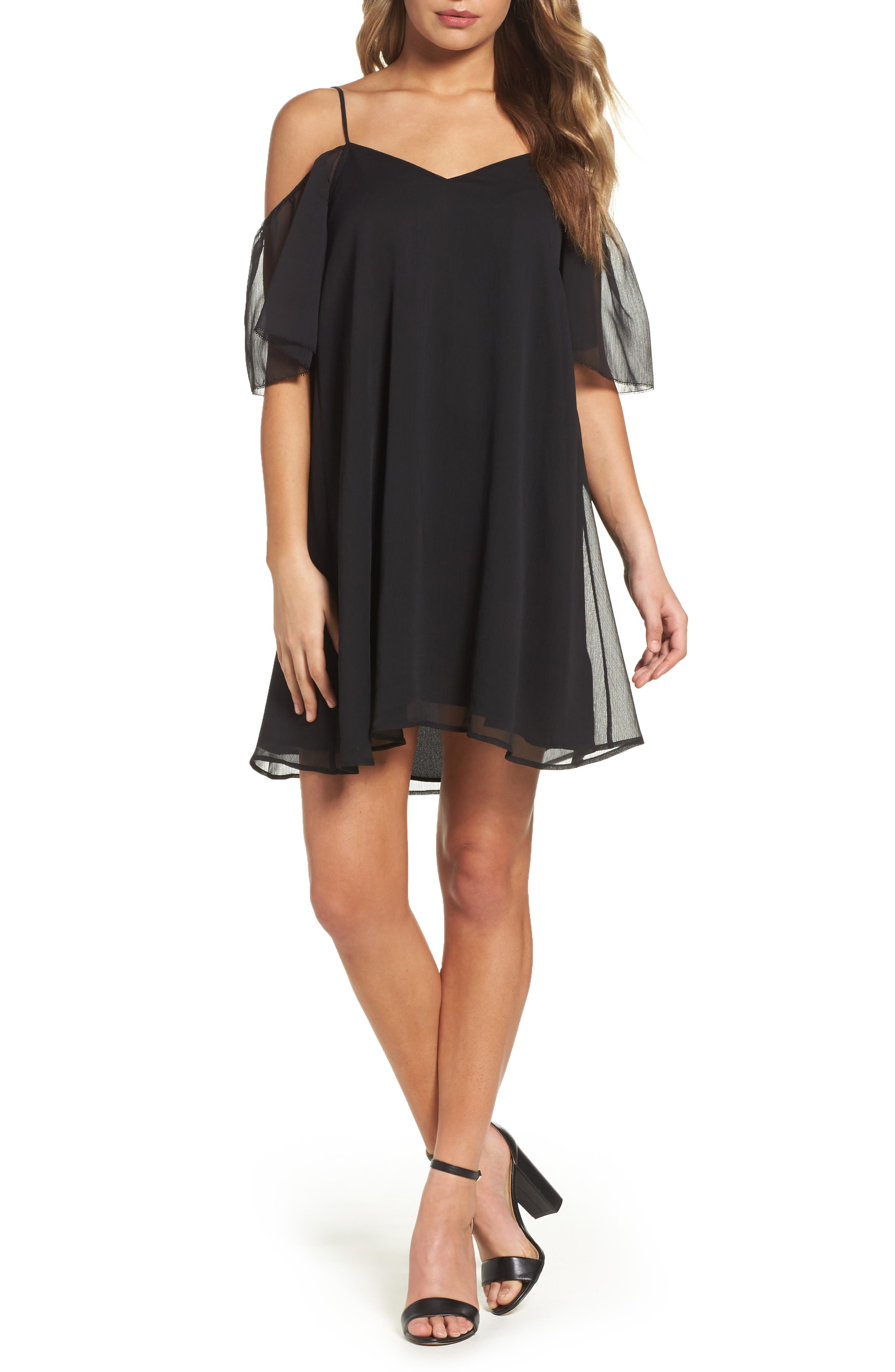 French Connection Constance Cold Shoulder Dress