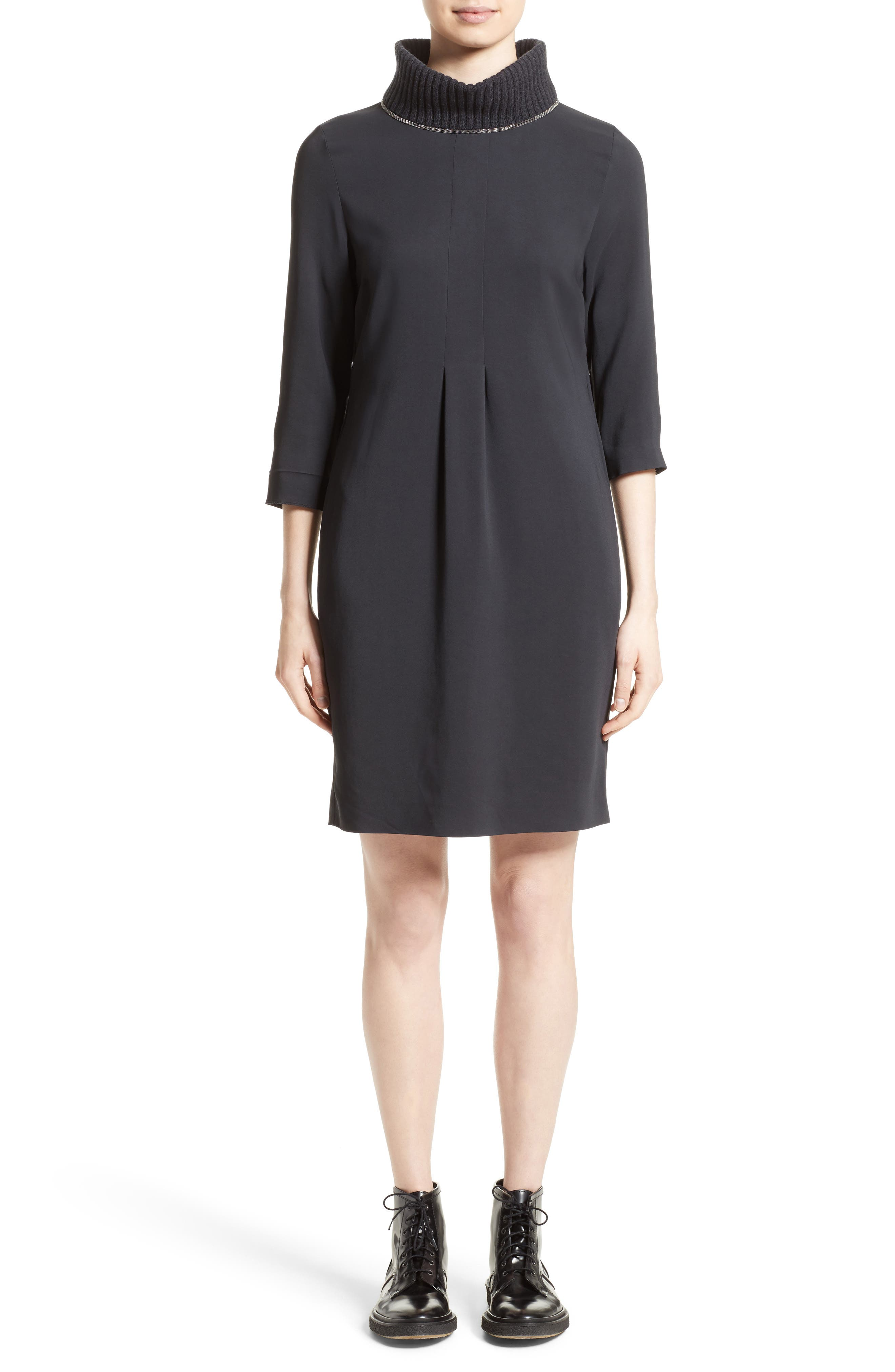 Fabiana Filippi Knit & Cady Dress
