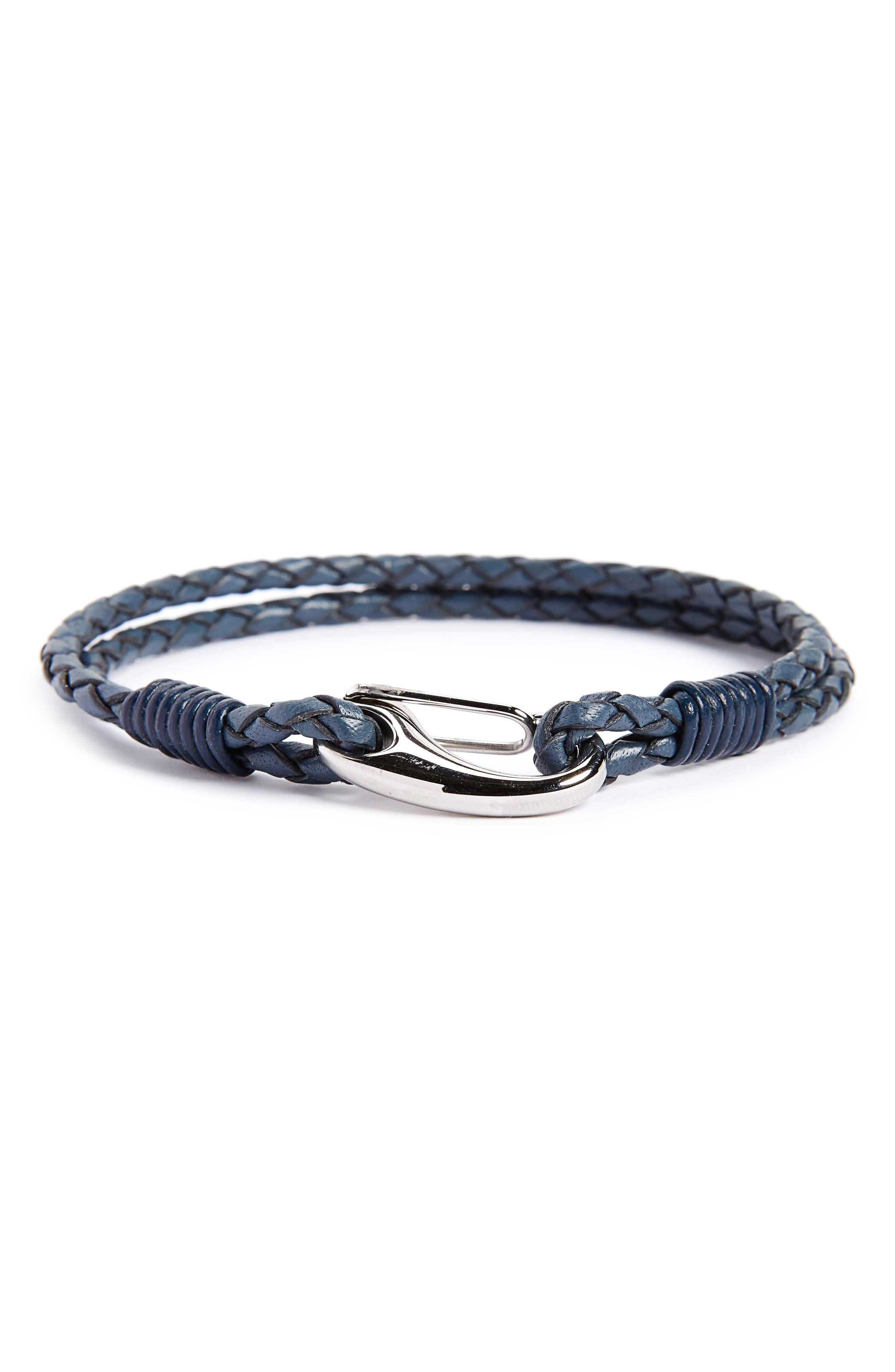 Link Up Leather Bracelet