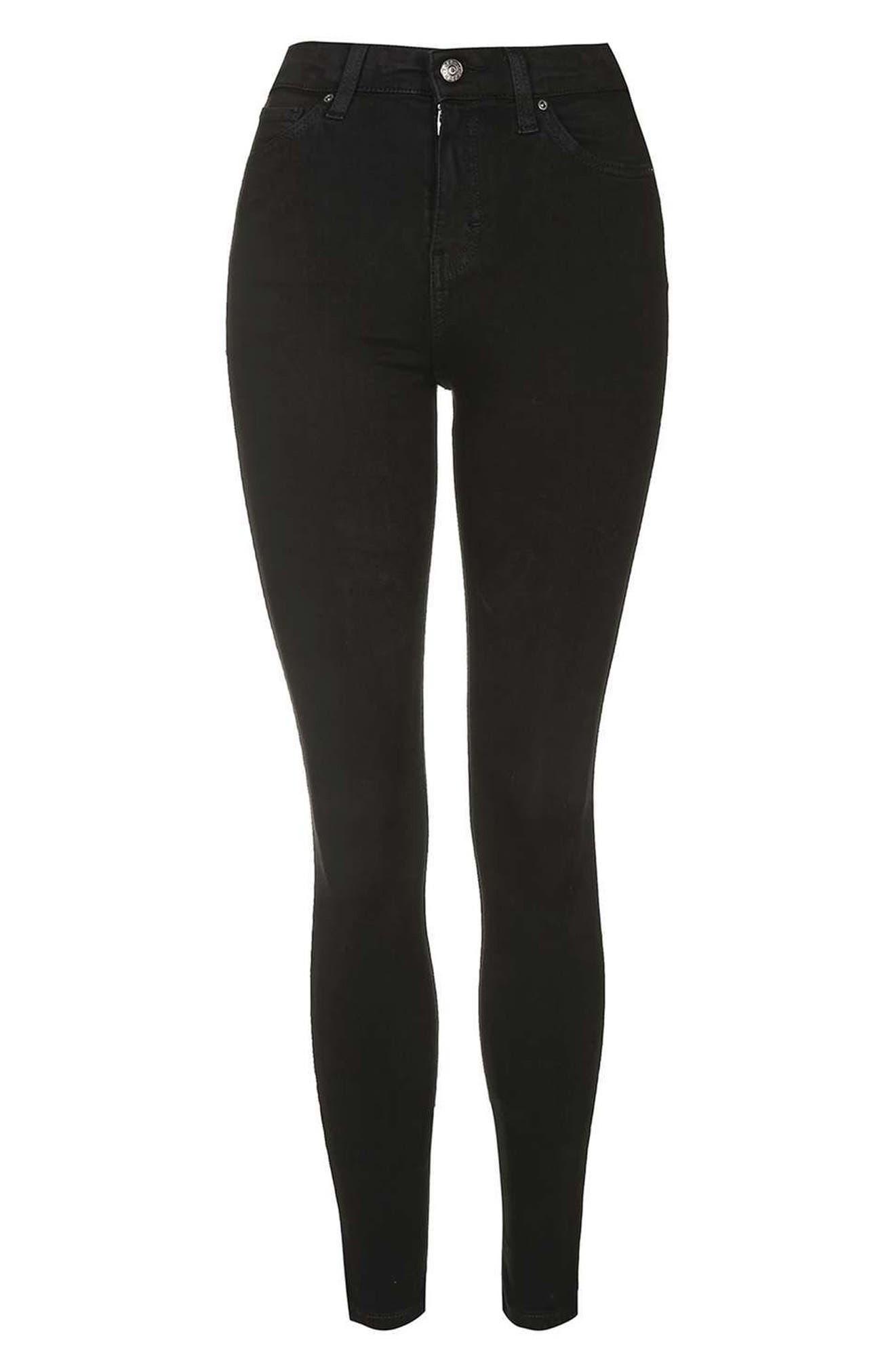 Alternate Image 4  - Topshop Jamie High Waist Ankle Grazer Skinny Jeans