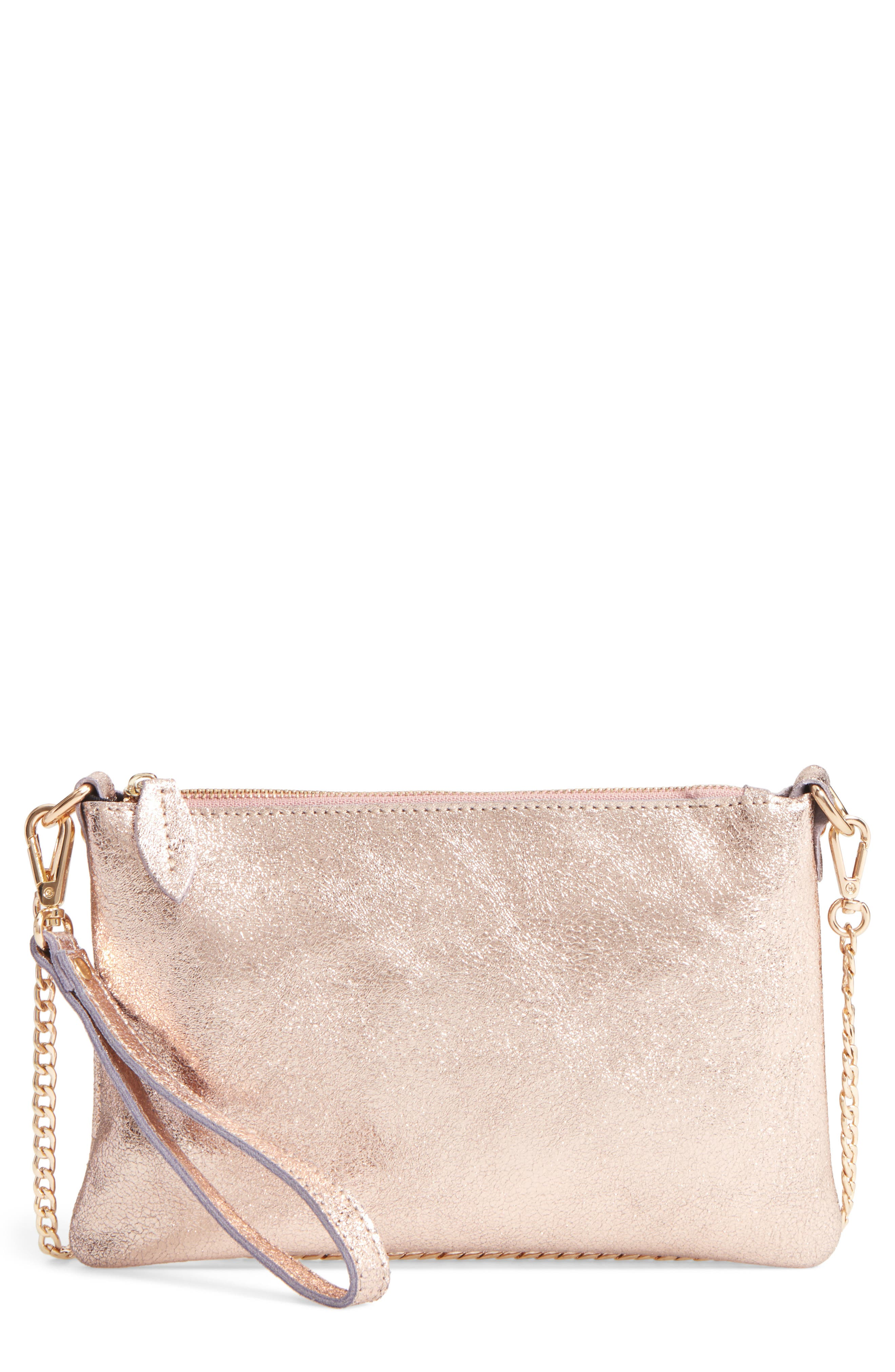 Street Level Leather Crossbody Bag