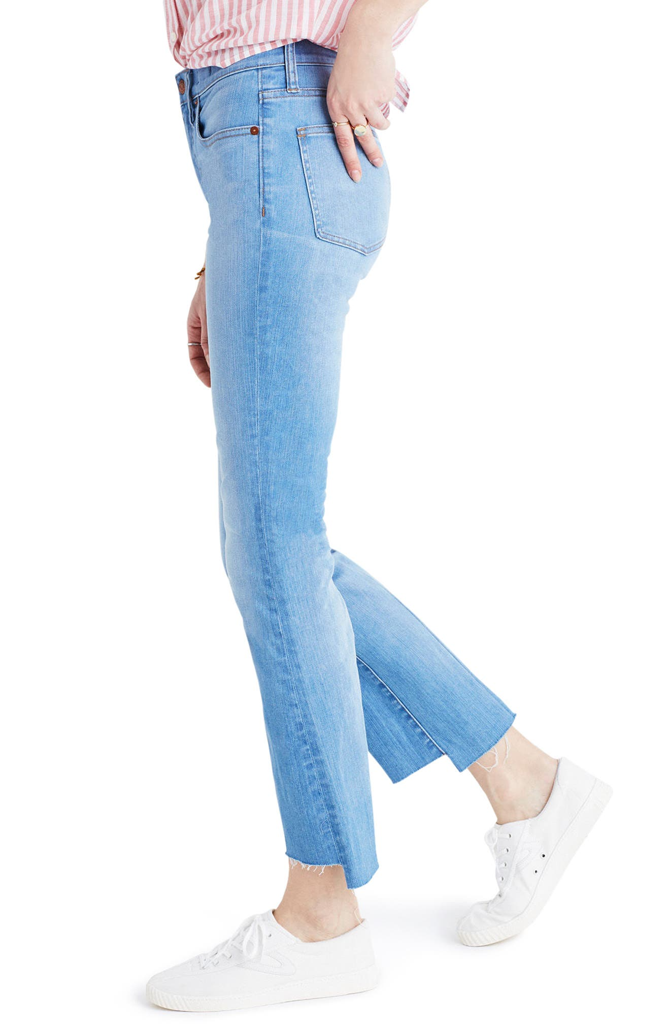 Madewell Cali Demi-Boot Jeans: Step-Hem Edition (Kingwood)