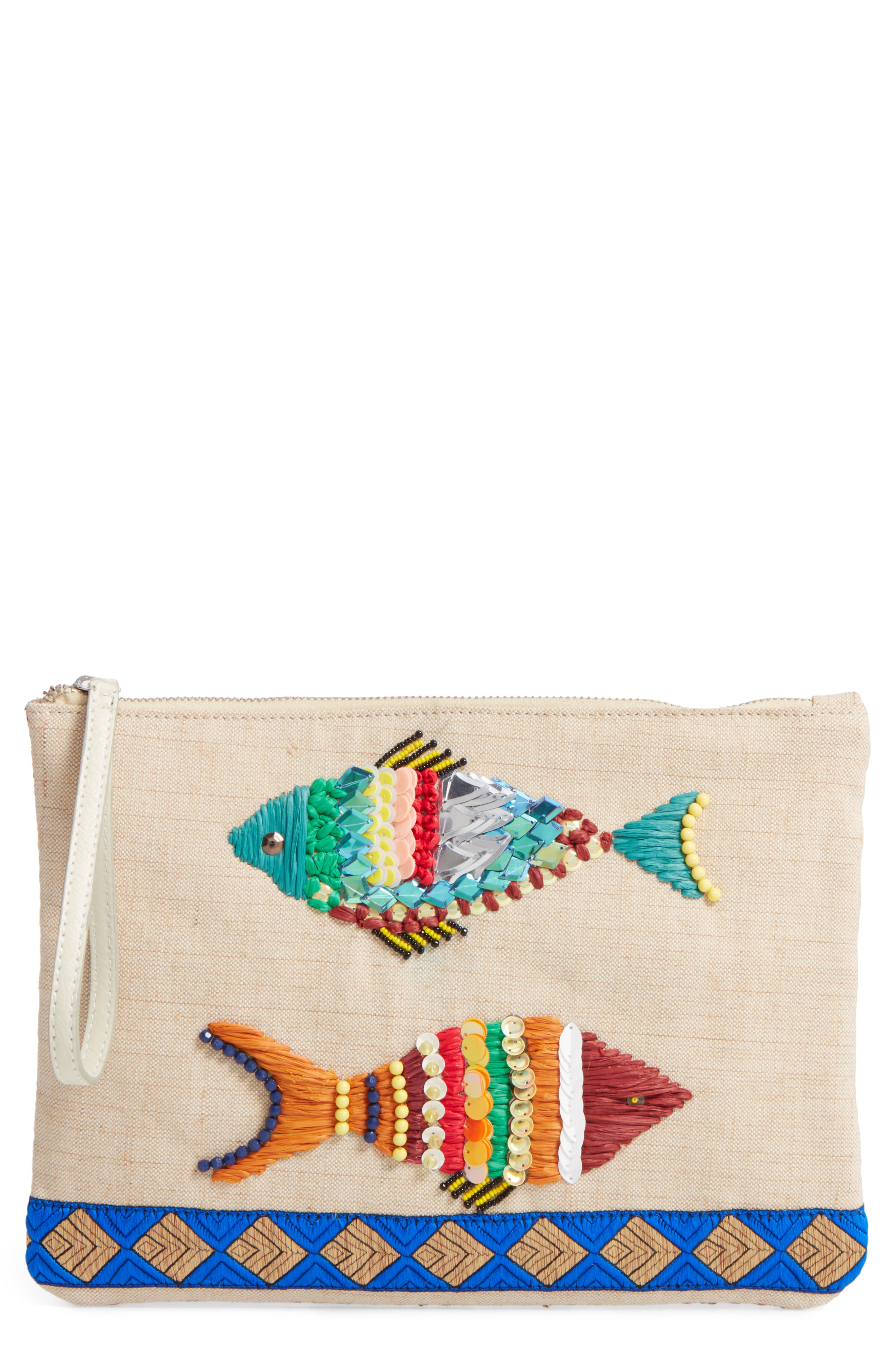 Sam Edelman Ariel Cotton Pouch