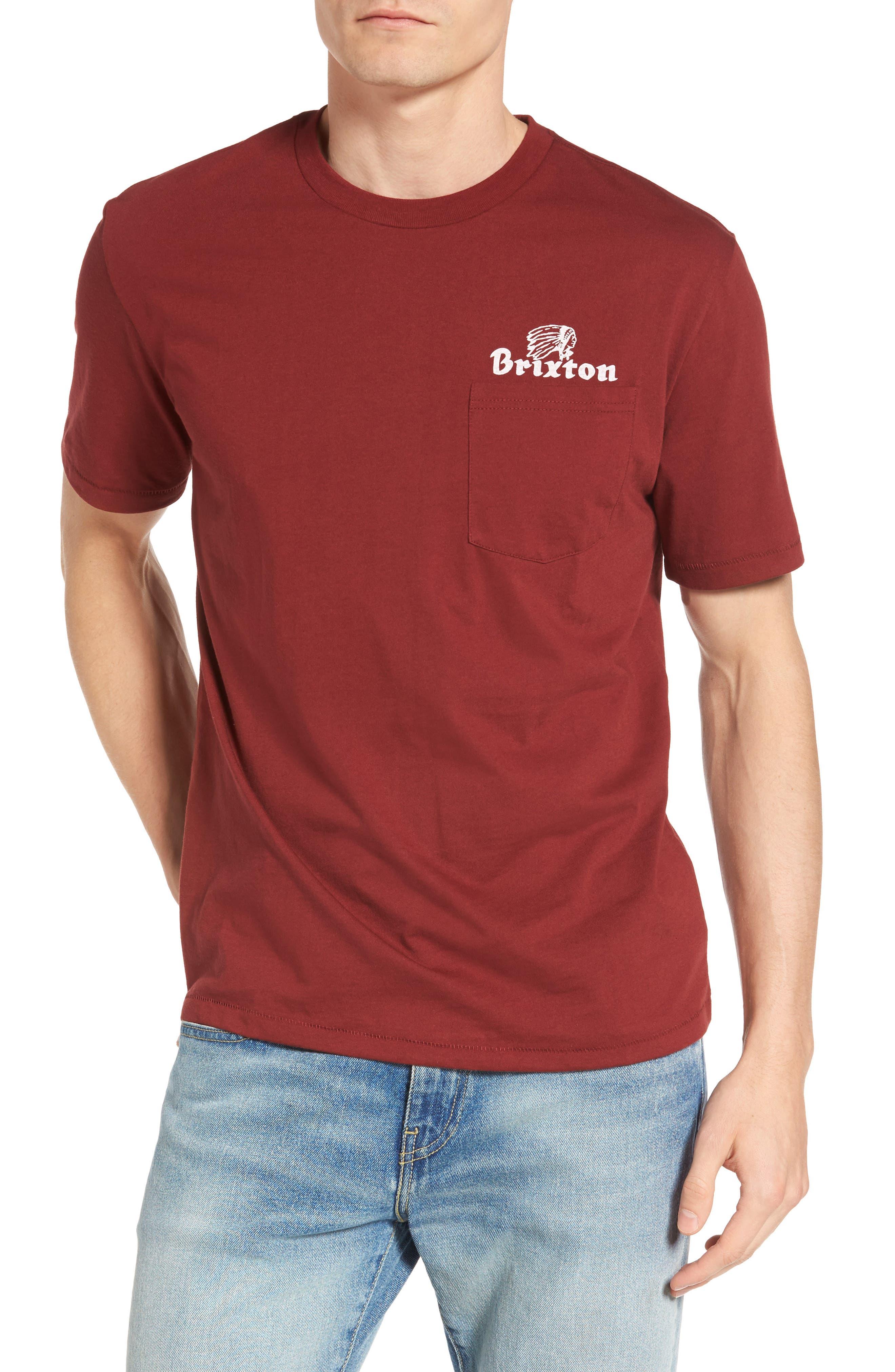 Brixton Tanka Pocket Graphic T-Shirt