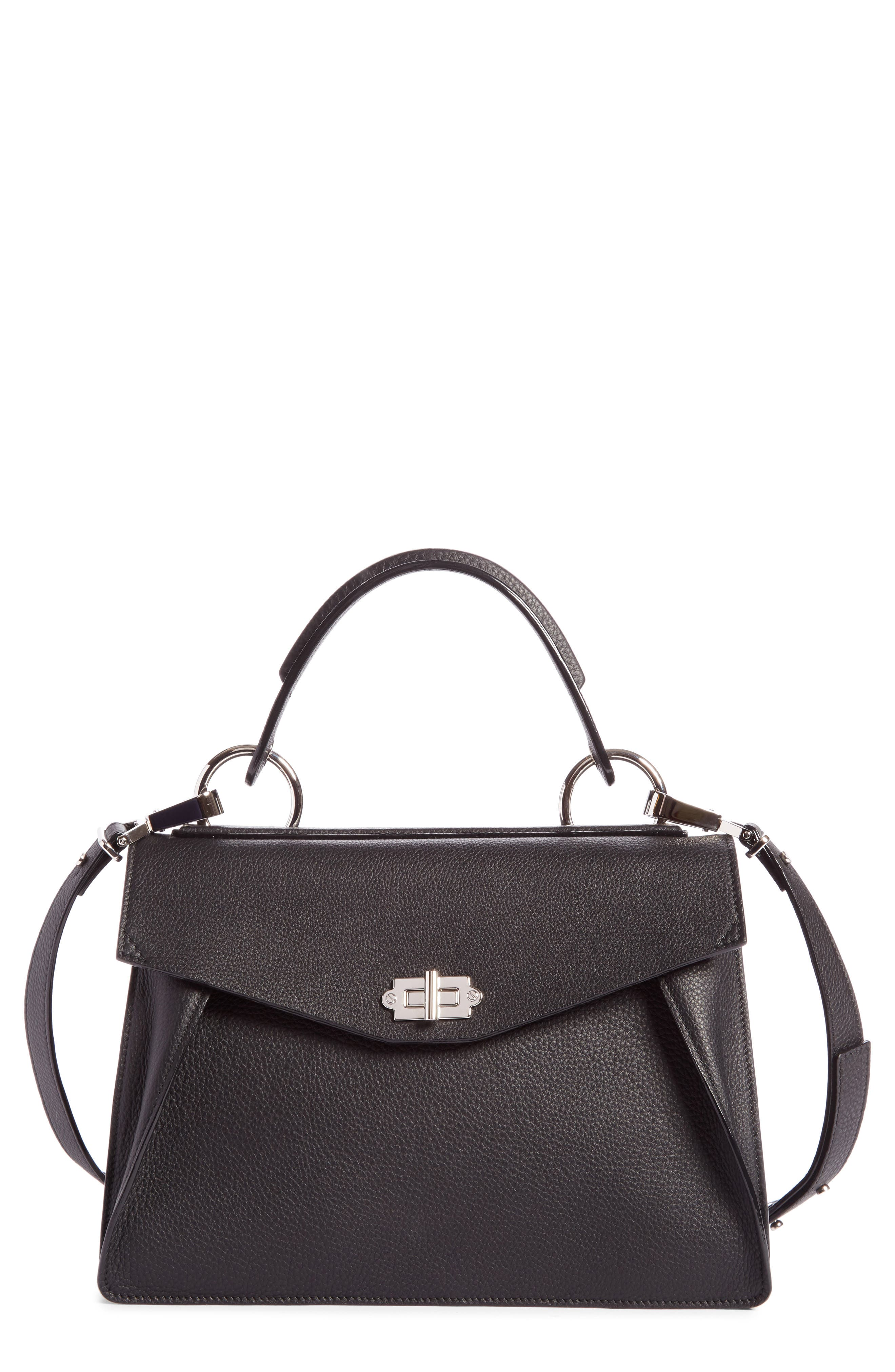 Proenza Schouler Medium Hava Top Handle Leather Satchel