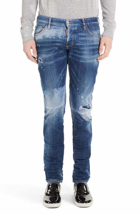 DSquared2 Canadian Patch Jeans (Blue)