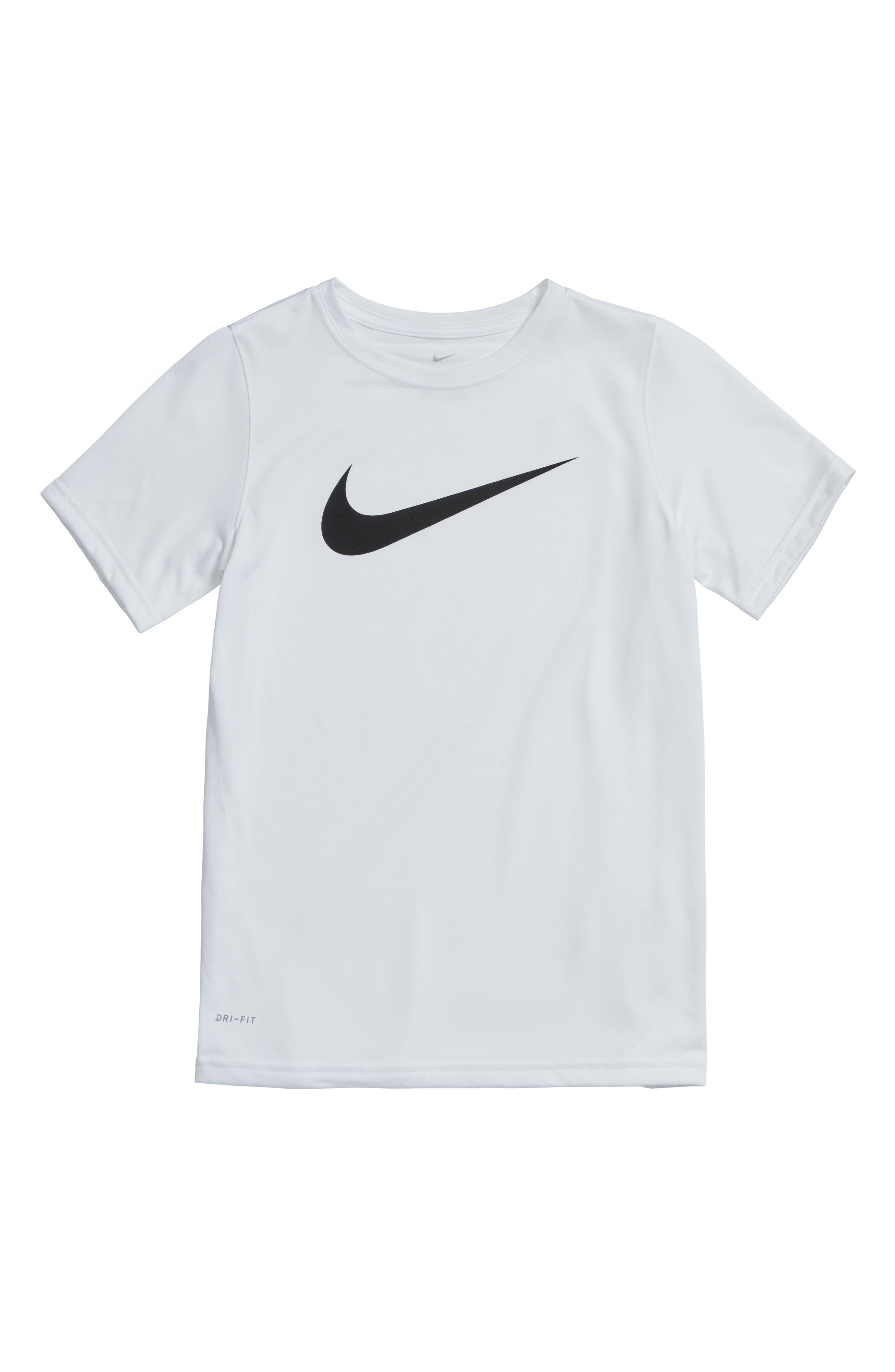 Nike Dry Swoosh T-Shirt (Little Boys & Big Boys) (Regular Retail Price: $20.00)