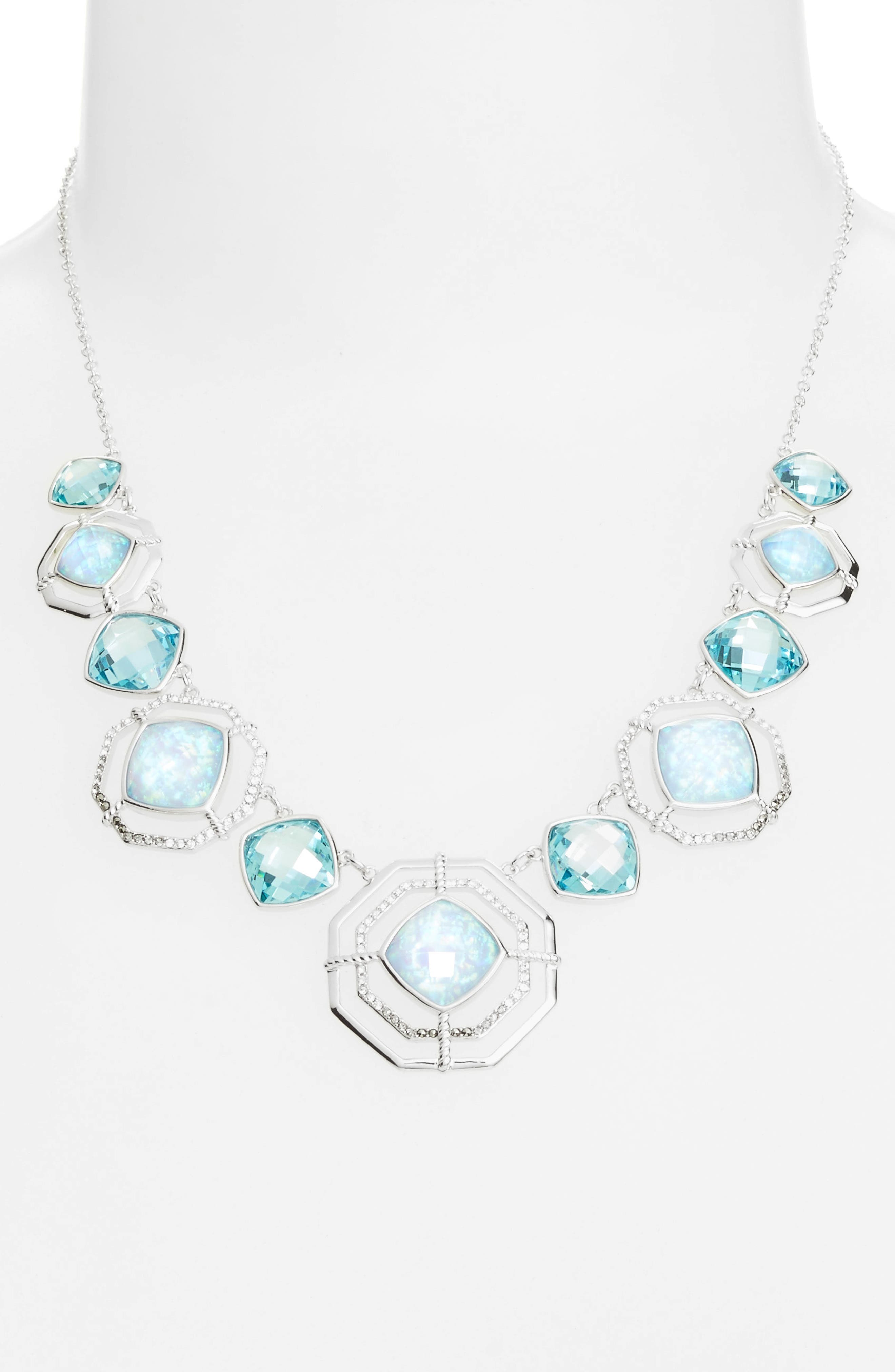 Judith Jack Paradise Frontal Necklace