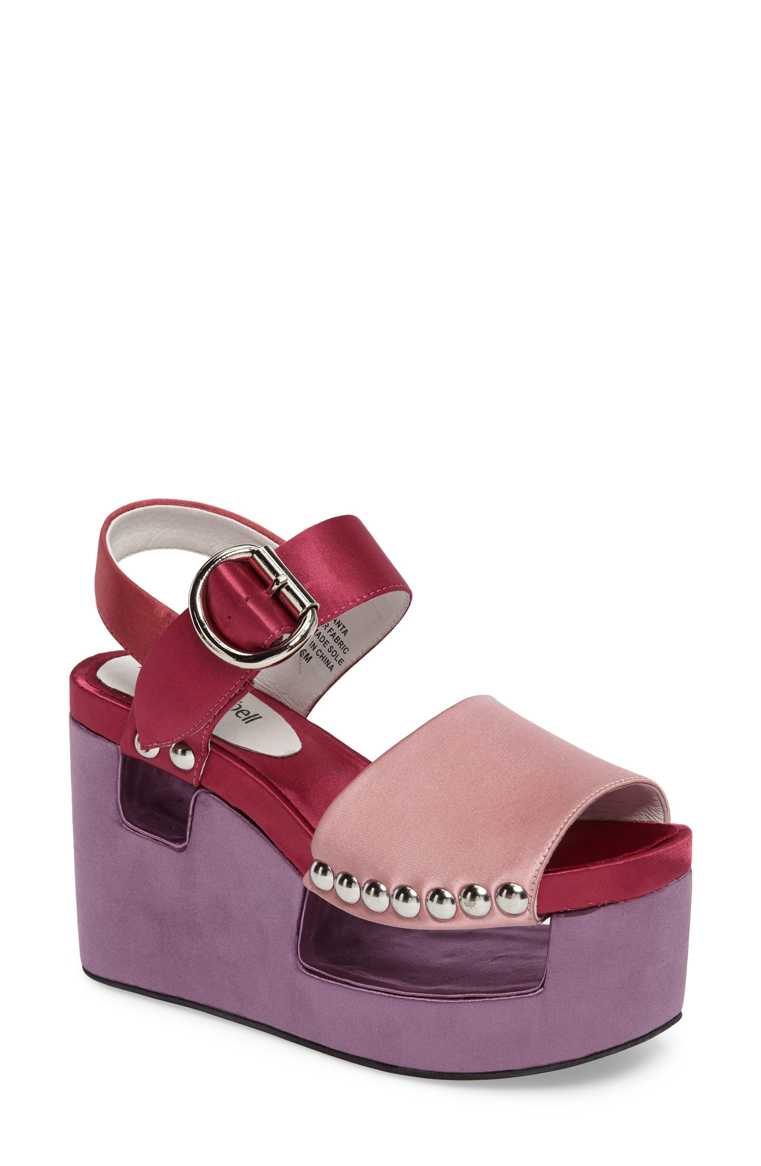 Jeffrey Campbell Branta Platform Wedge Sandal (Women)