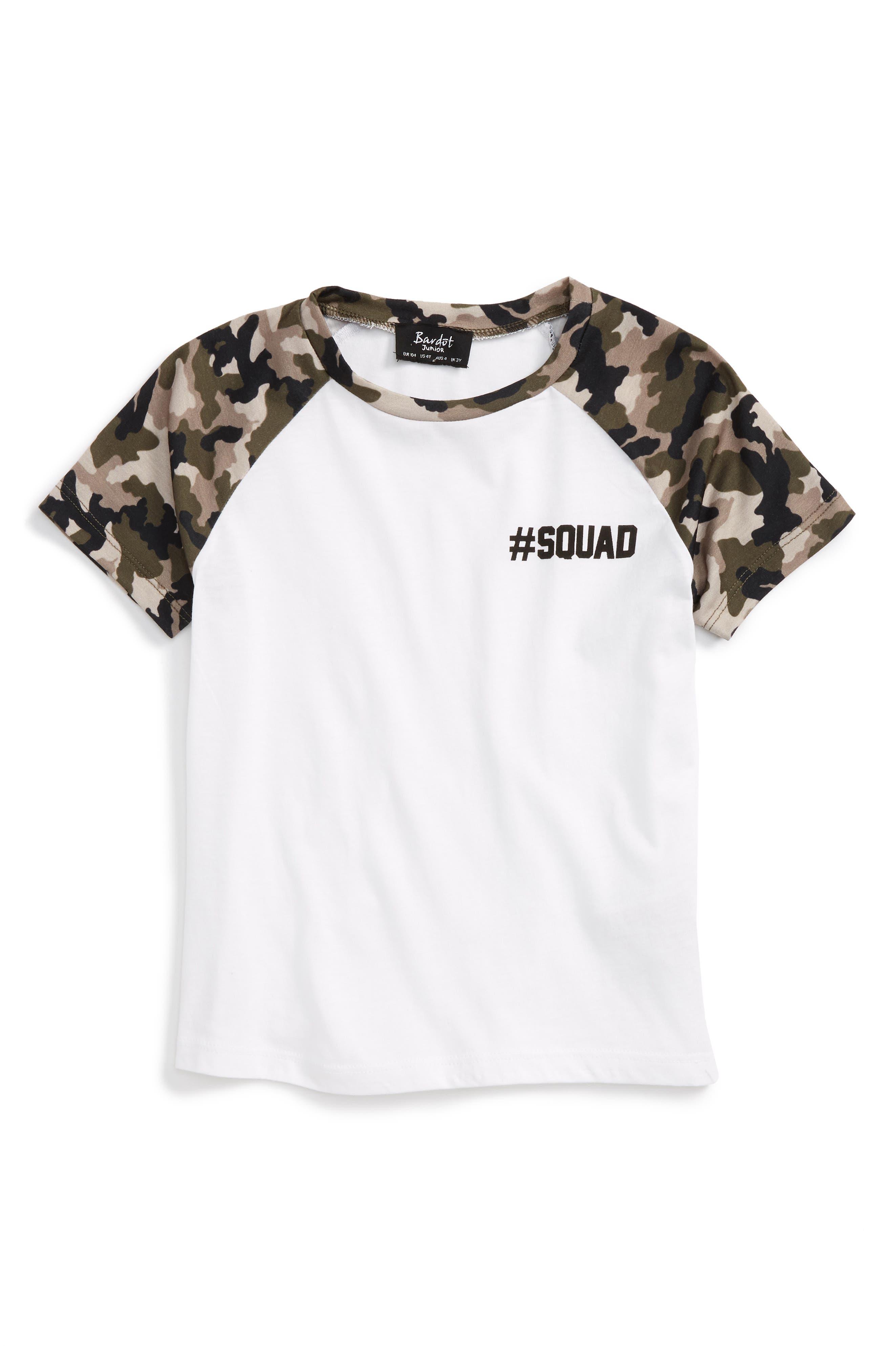 Bardot Junior #Squad T-Shirt (Toddler Boys, Little Boys & Big Boys)
