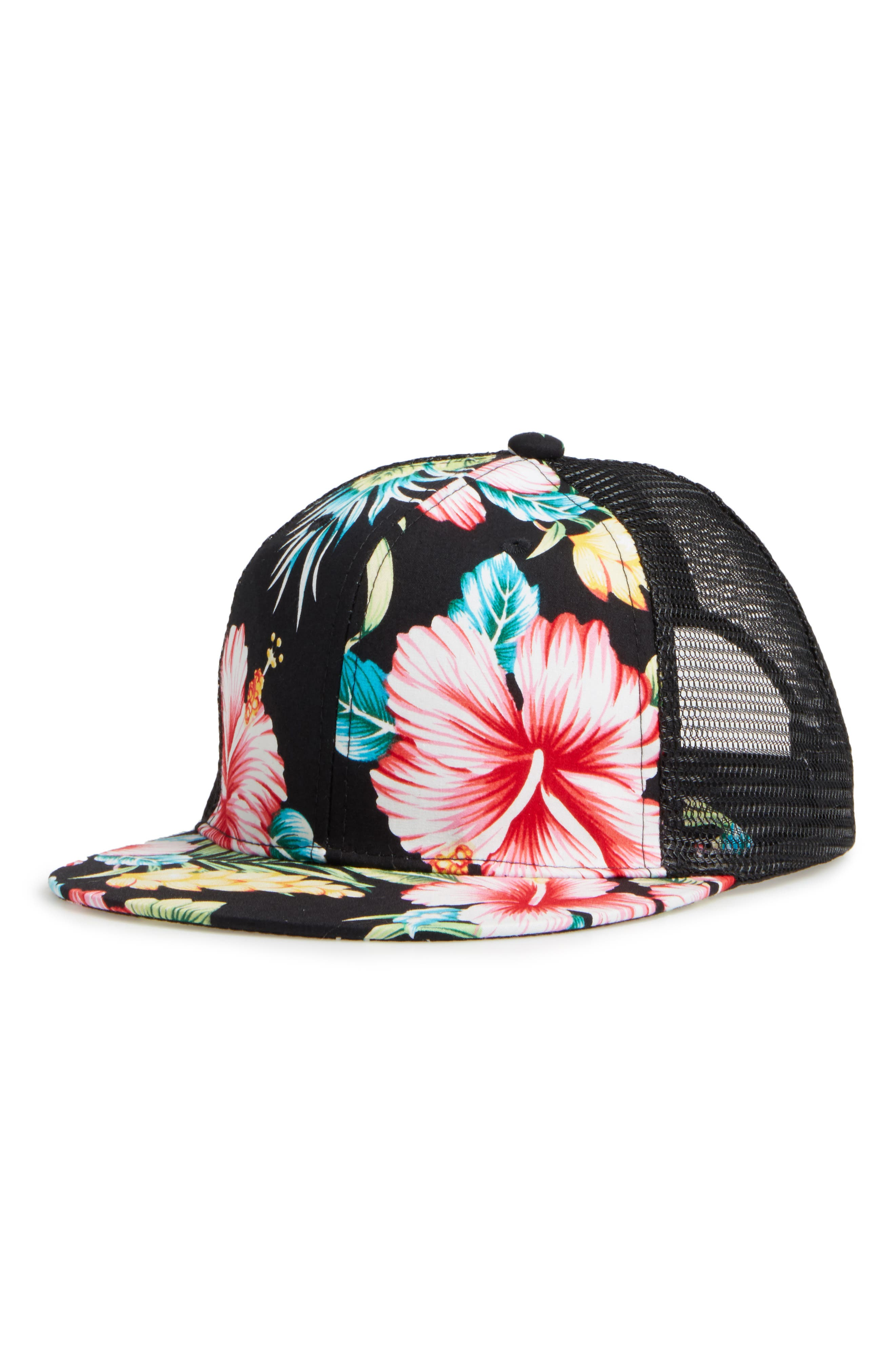 Phase 3 Floral Print Trucker Hat