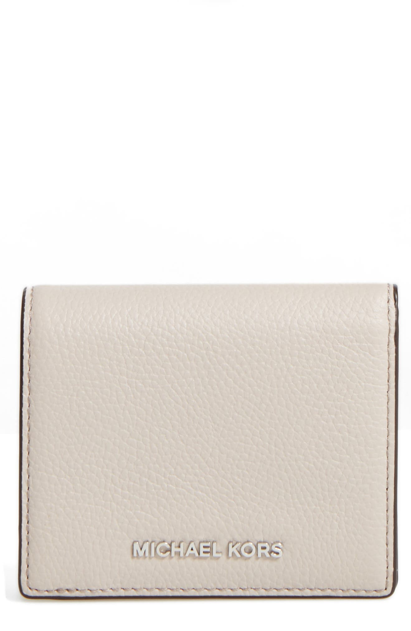 MICHAEL Michael Kors Mercer Leather RFID Cardholder Wallet