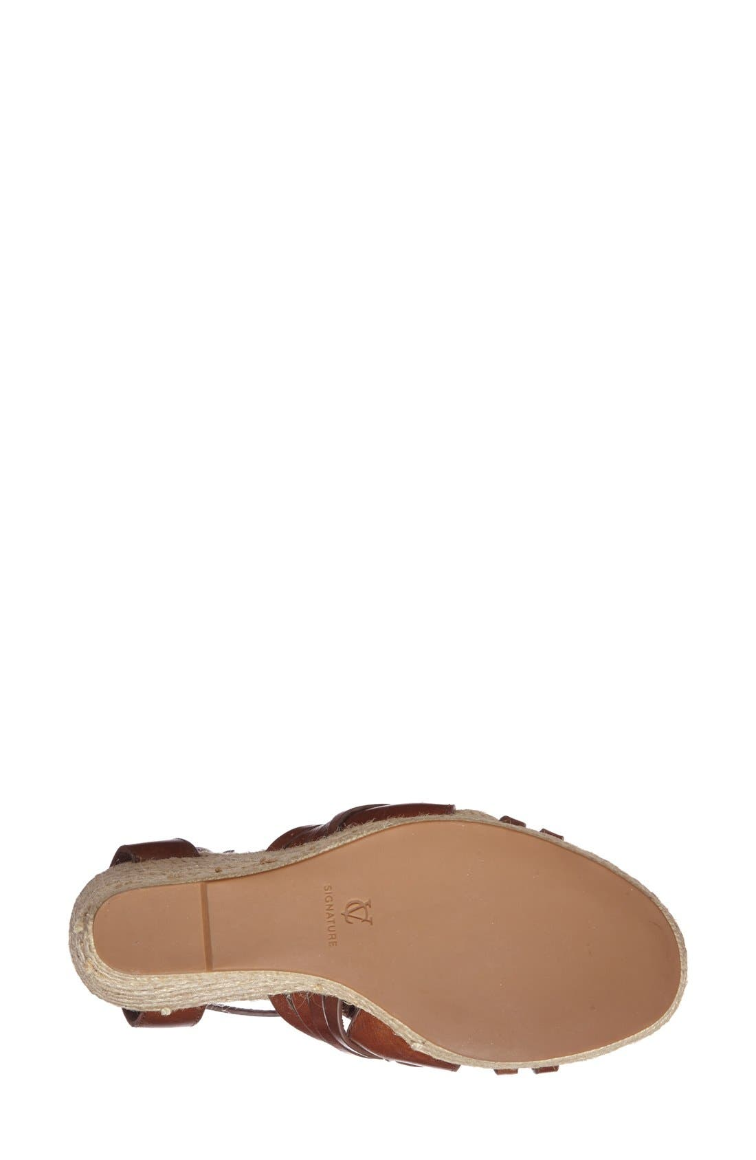 Alternate Image 4  - VC Signature 'Danessa' Wedge Sandal (Women)